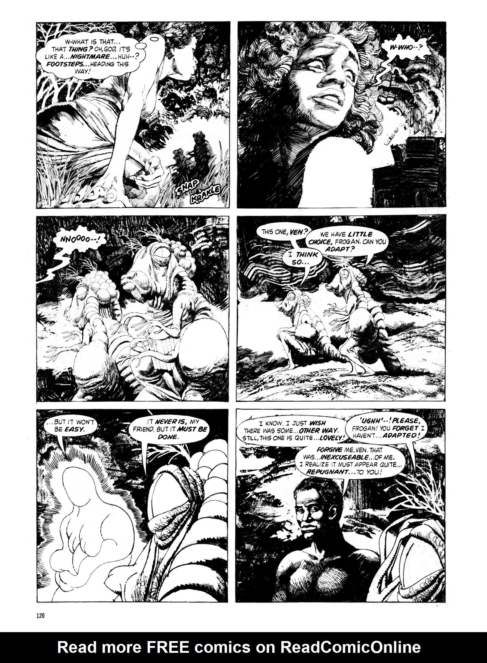 Read online Eerie Archives comic -  Issue # TPB 18 - 121