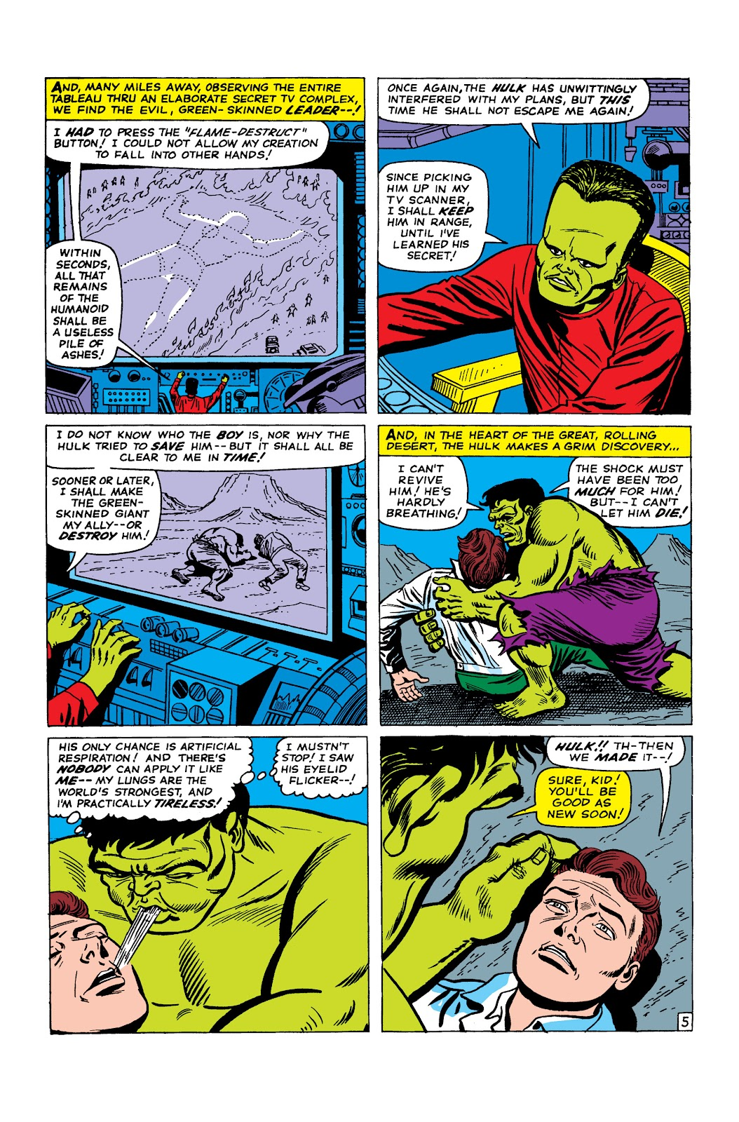 Read online Marvel Masterworks: The Incredible Hulk comic -  Issue # TPB 2 (Part 2) - 50