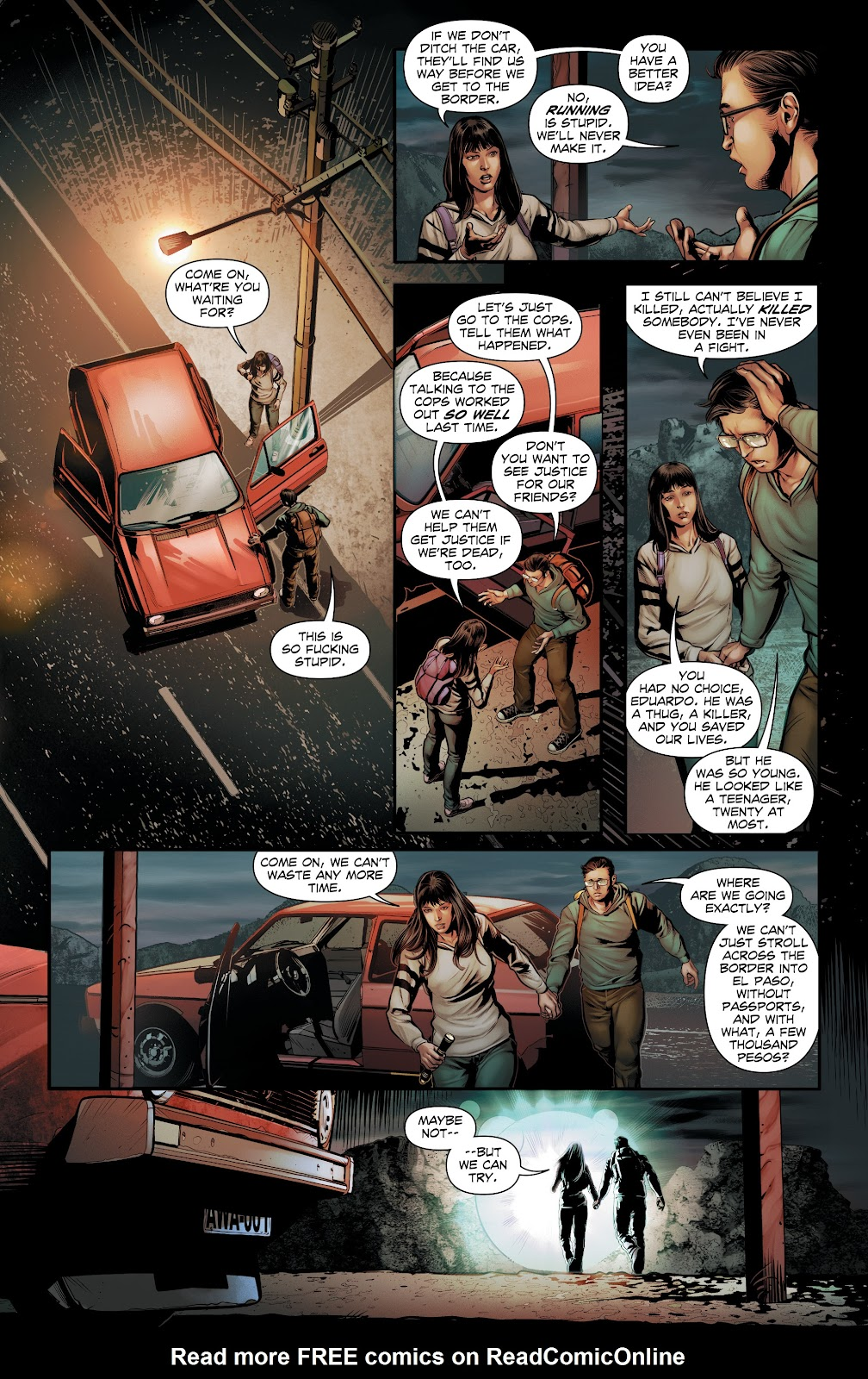 Read online Red Border comic -  Issue #1 - 9