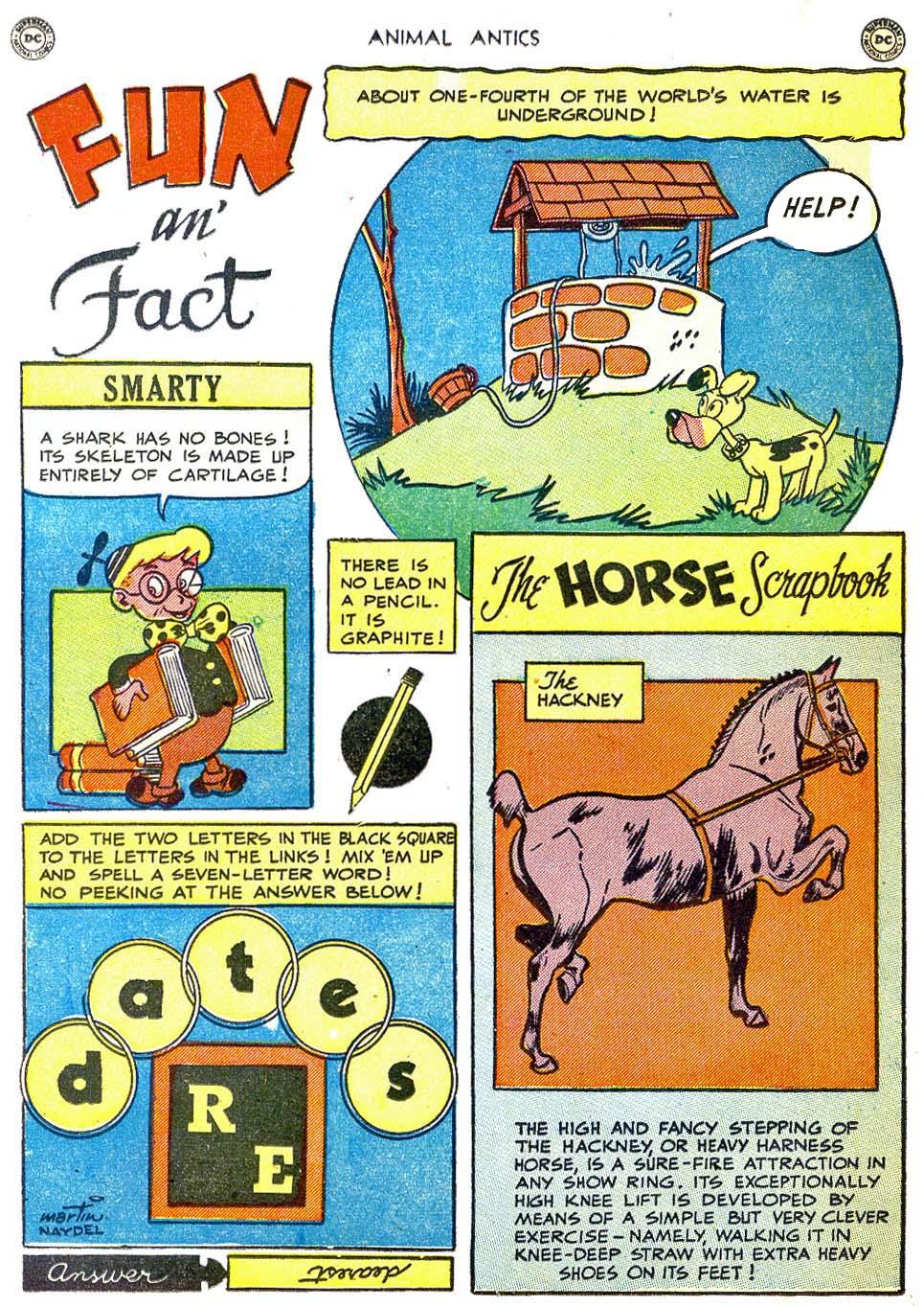 Read online Animal Antics comic -  Issue #28 - 38