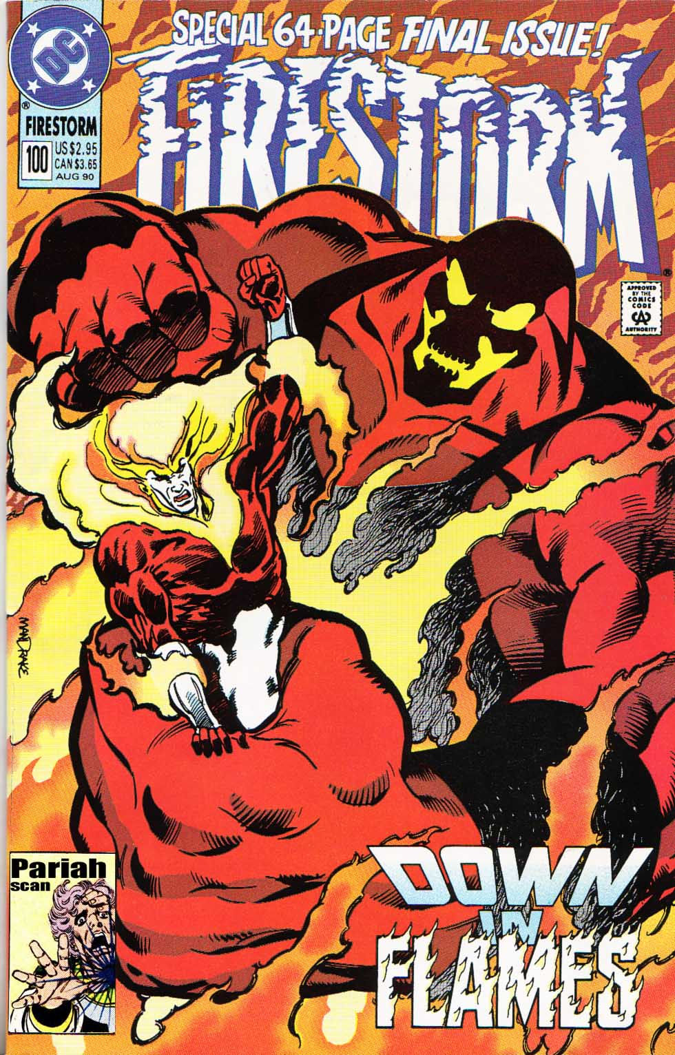 Firestorm, the Nuclear Man Issue #100 #36 - English 1