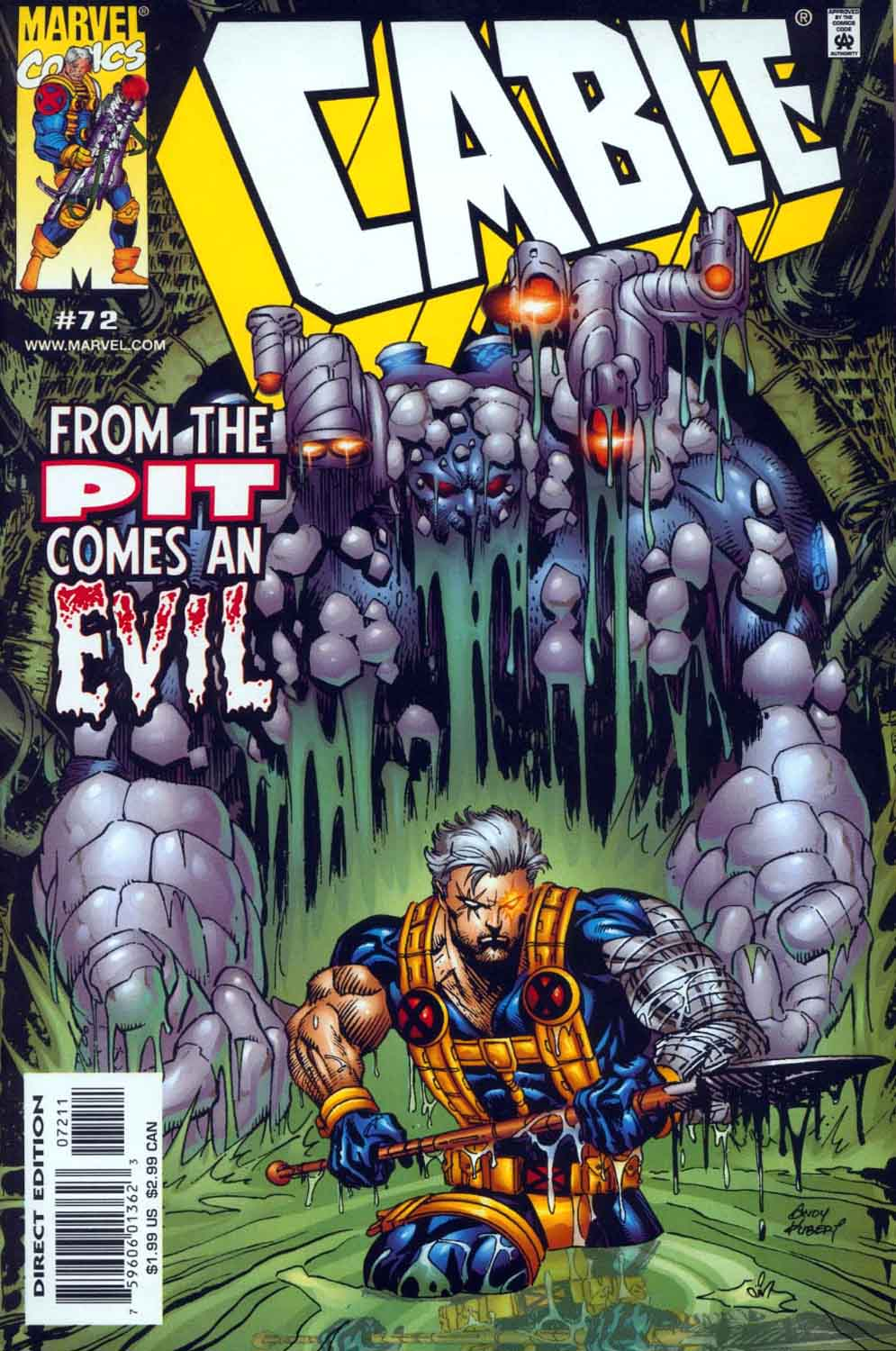 Cable (1993) 72 Page 1