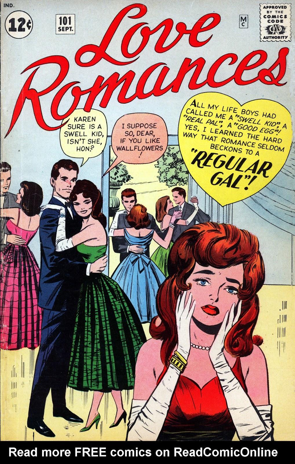 Love Romances (1949) issue 101 - Page 1