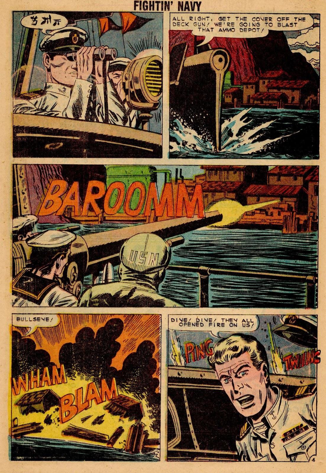 Read online Fightin' Navy comic -  Issue #90 - 16
