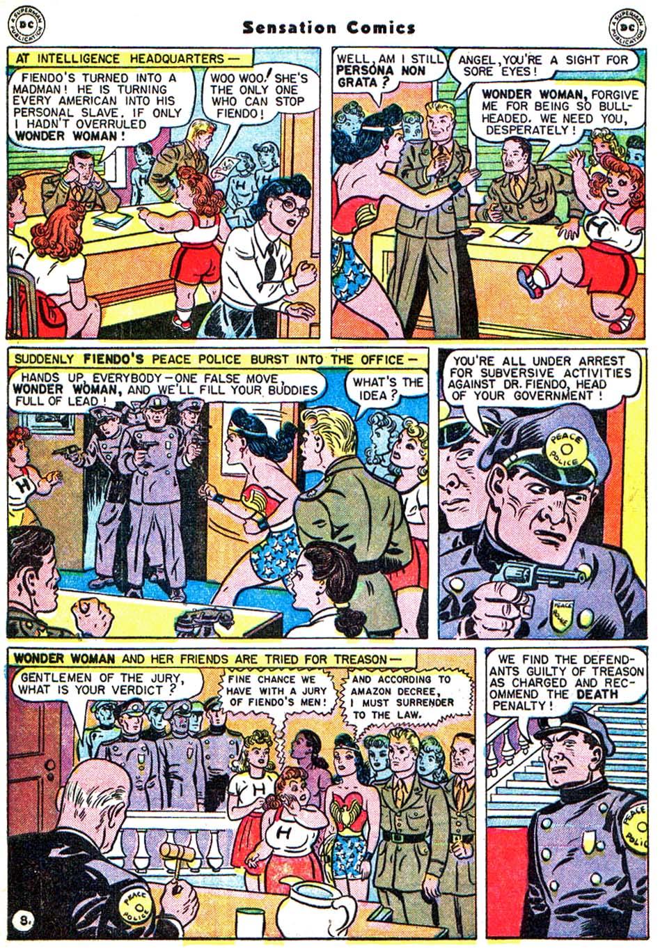 Read online Sensation (Mystery) Comics comic -  Issue #54 - 11