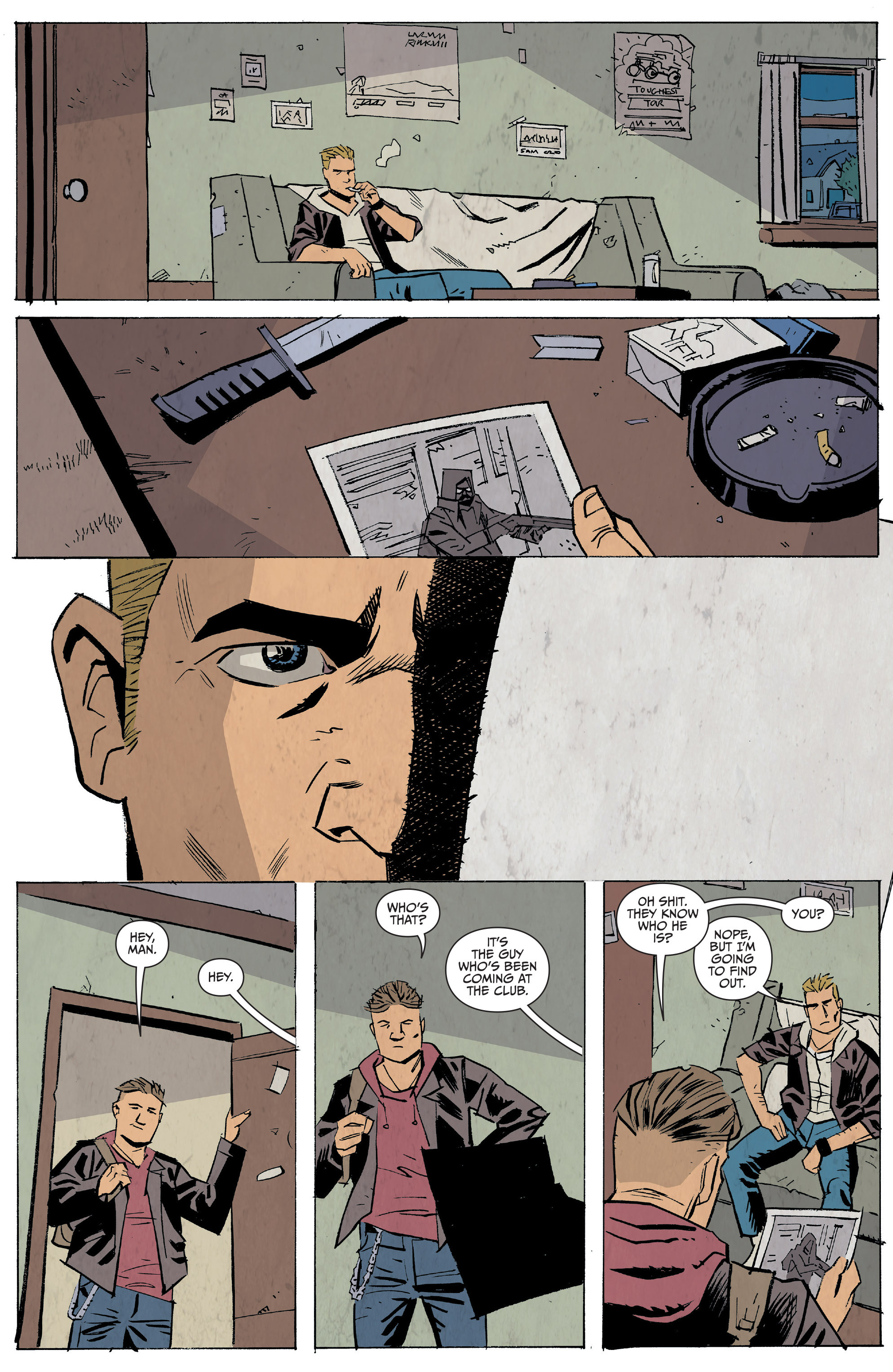 Read online Sons of Anarchy: Redwood Original comic -  Issue #5 - 23