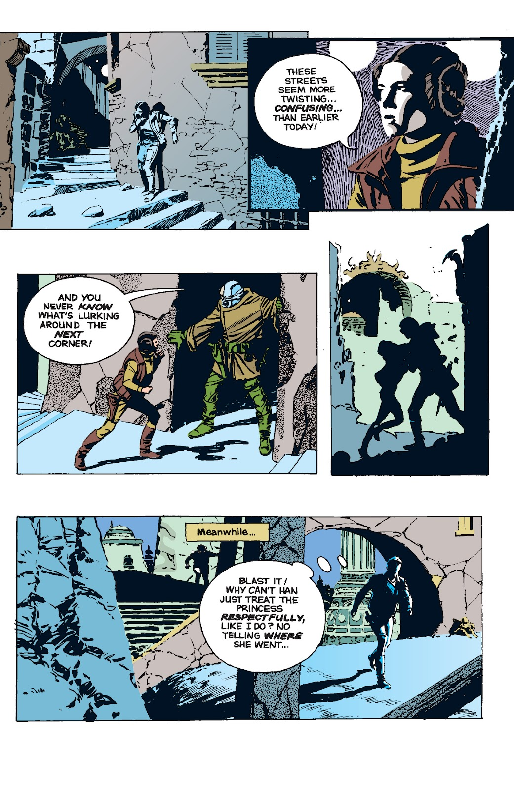 Read online Star Wars Legends: The Newspaper Strips - Epic Collection comic -  Issue # TPB (Part 5) - 2