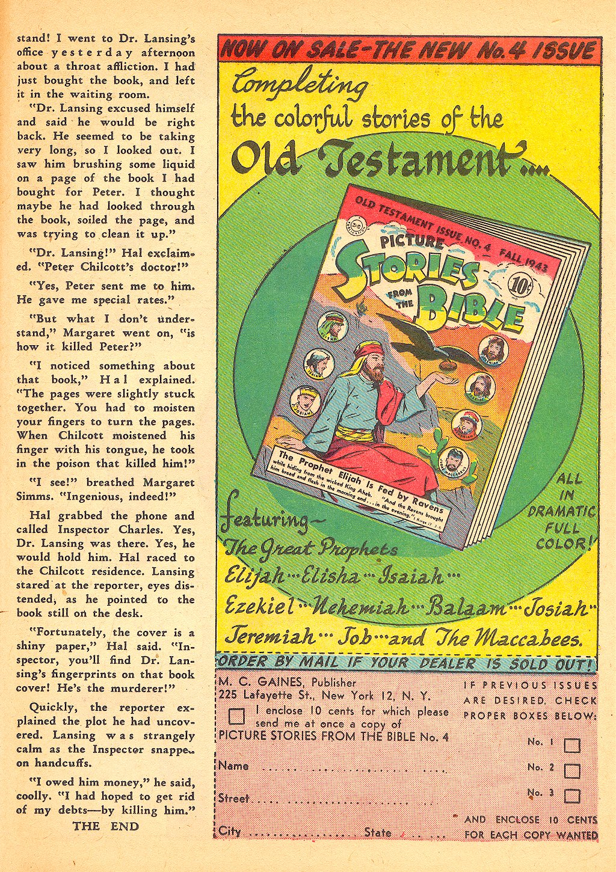 Read online Sensation (Mystery) Comics comic -  Issue #25 - 41