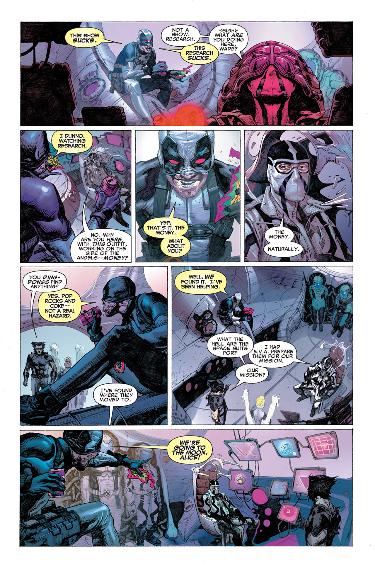 Read online Uncanny X-Force (2010) comic -  Issue #2 - 12