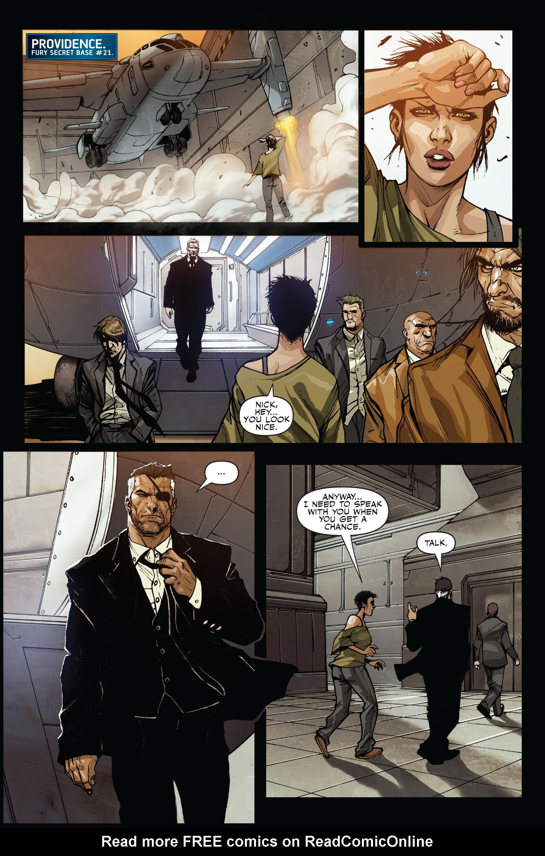 Read online Secret Warriors comic -  Issue #15 - 21
