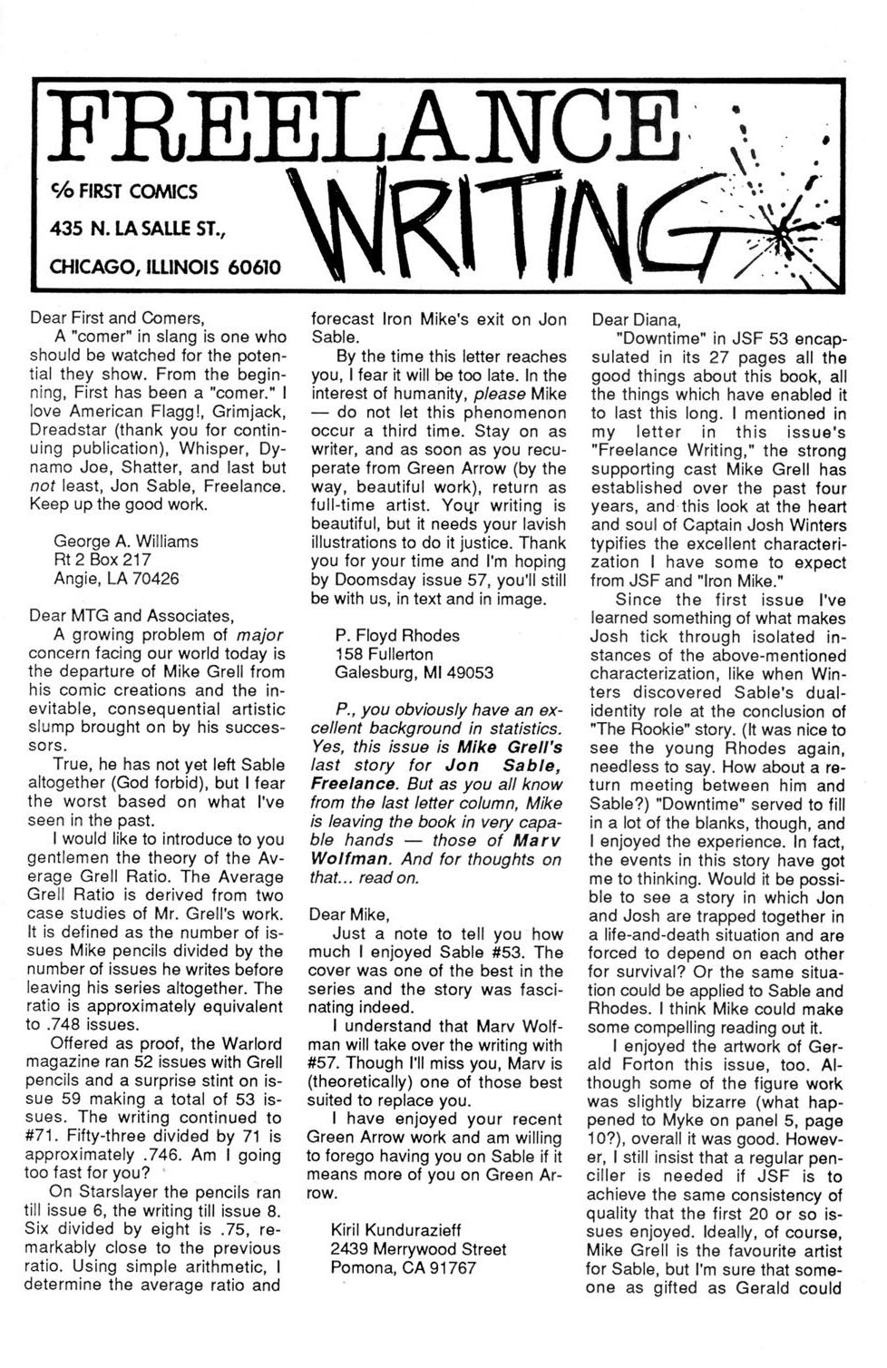 Jon Sable, Freelance issue 56 - Page 28