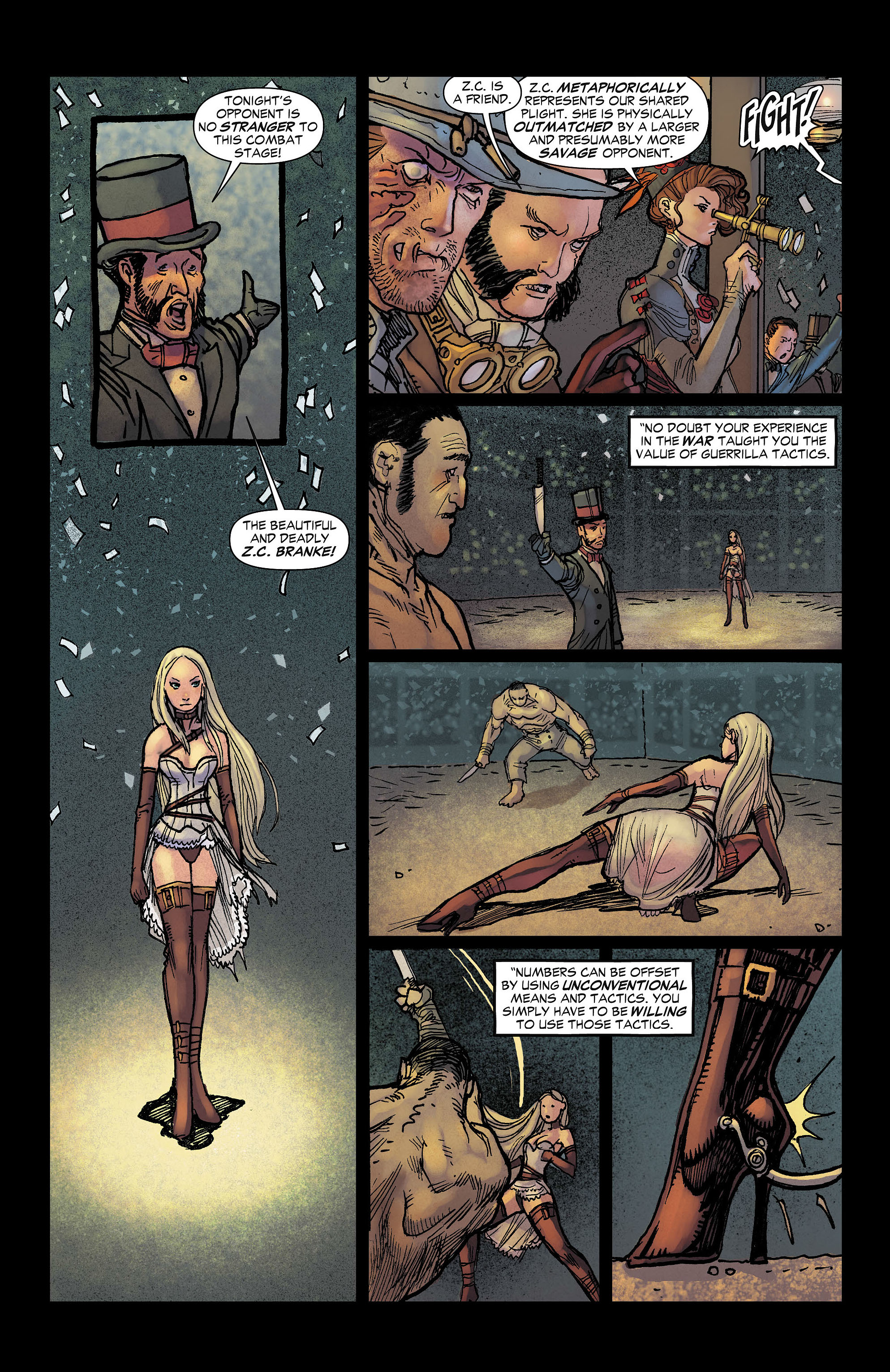 Read online All-Star Western (2011) comic -  Issue #7 - 12