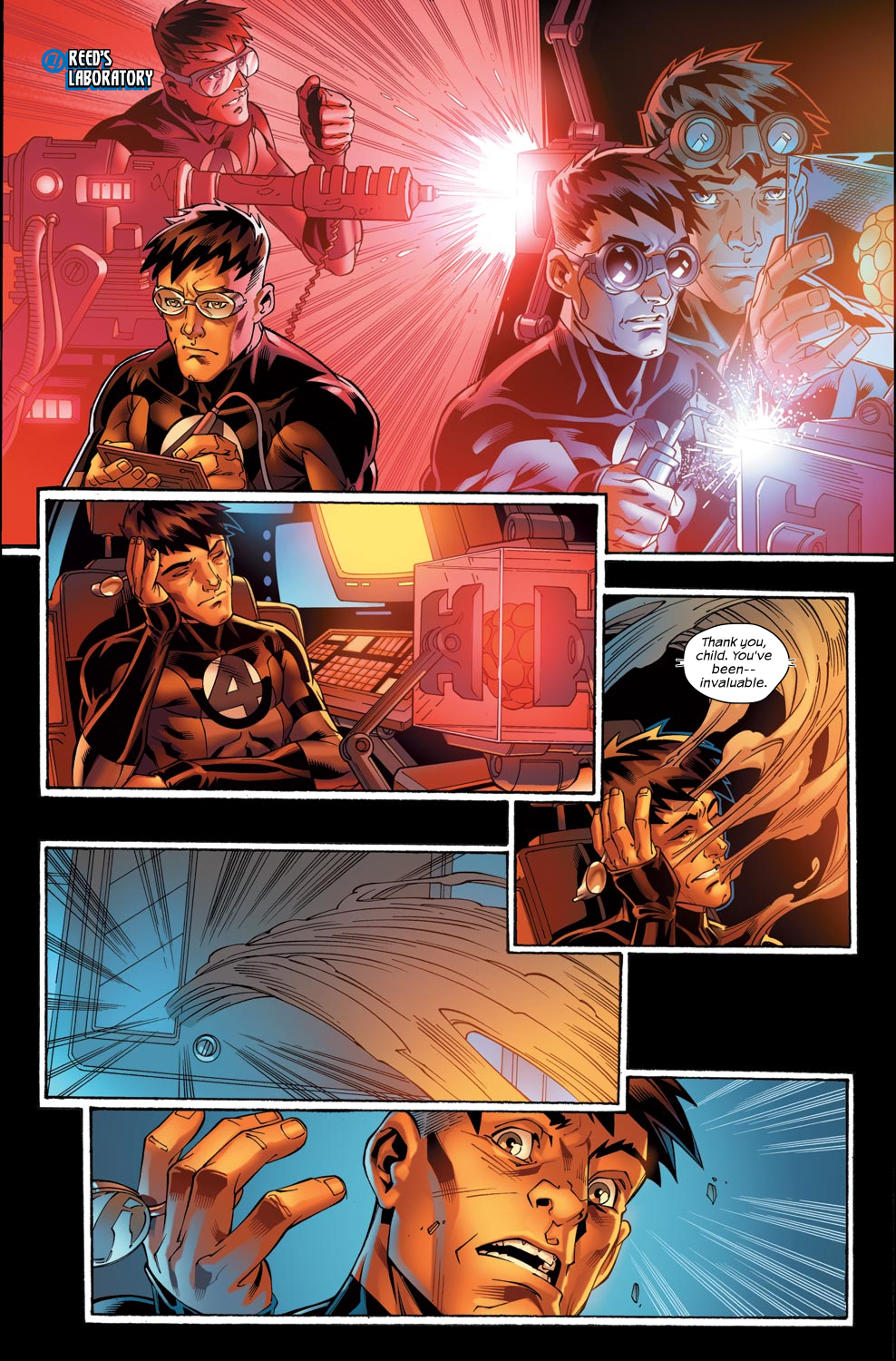 Read online Ultimate Fantastic Four (2004) comic -  Issue #47 - 17