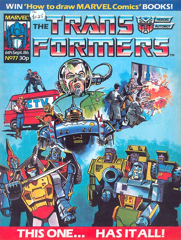 The Transformers (UK) 77 Page 1