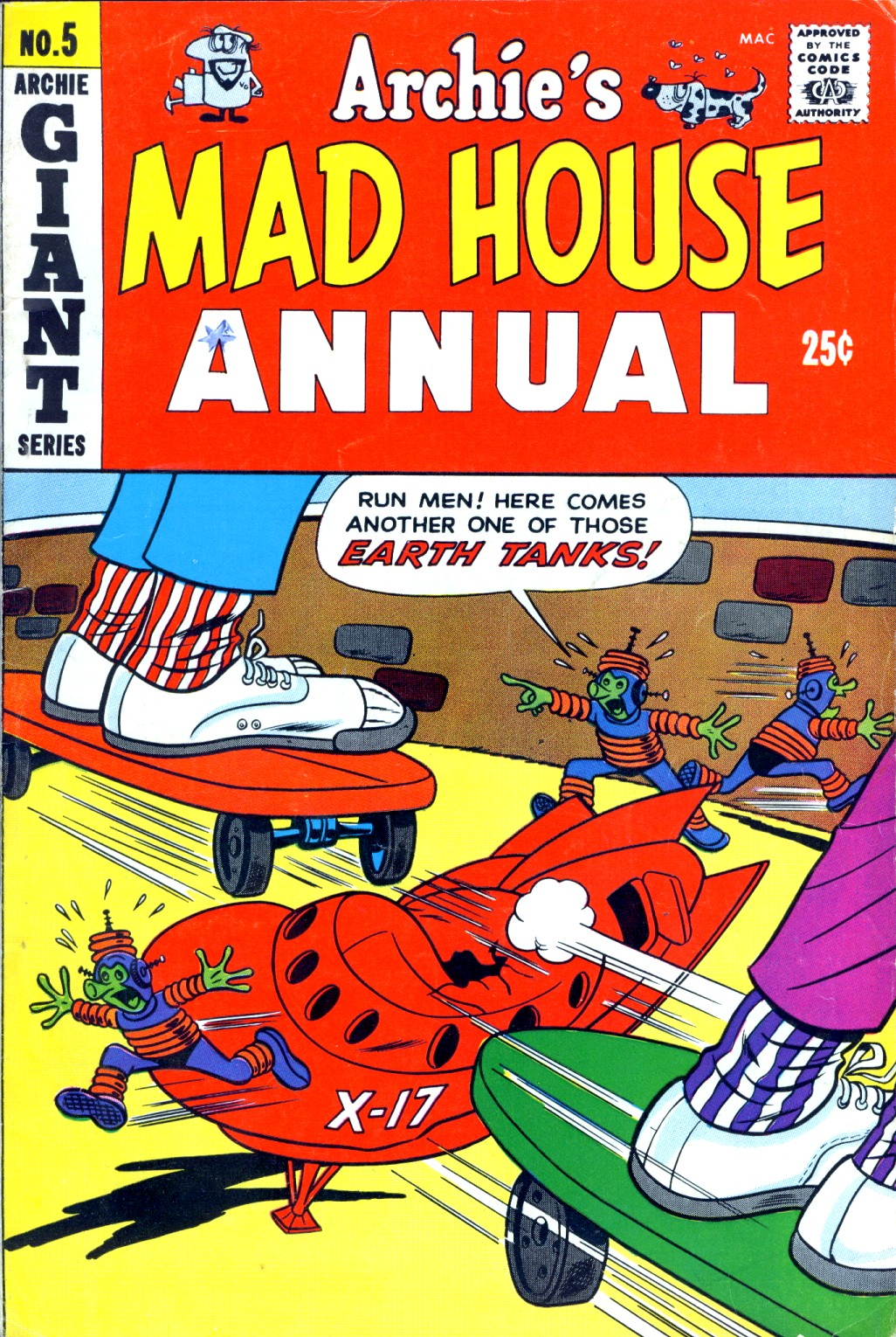 Archie's Madhouse issue Annual 5 - Page 1
