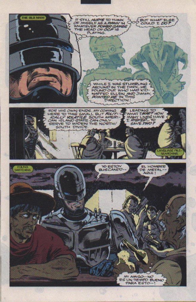 Read online Robocop (1990) comic -  Issue #22 - 4