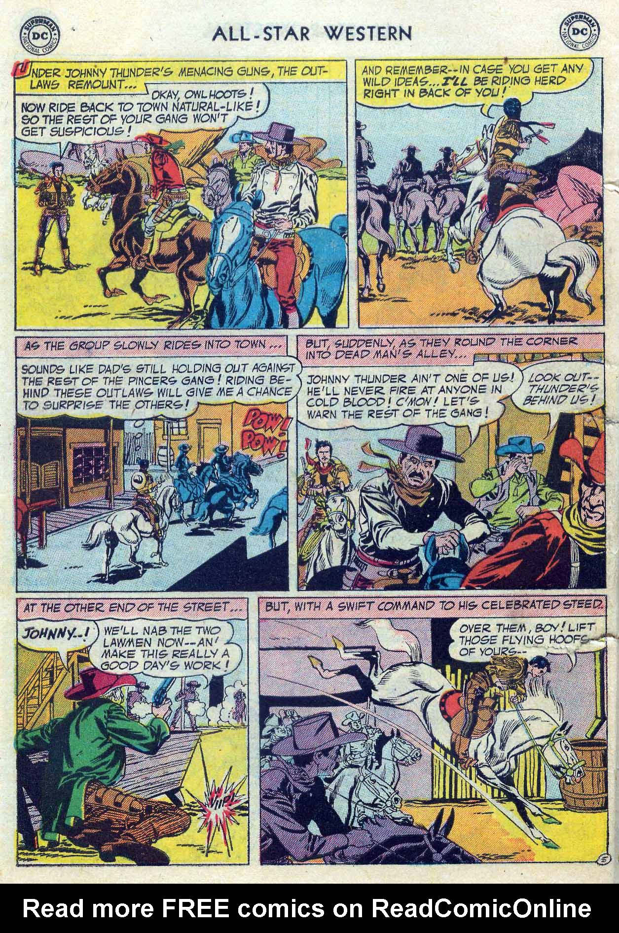Read online All-Star Western (1951) comic -  Issue #85 - 32