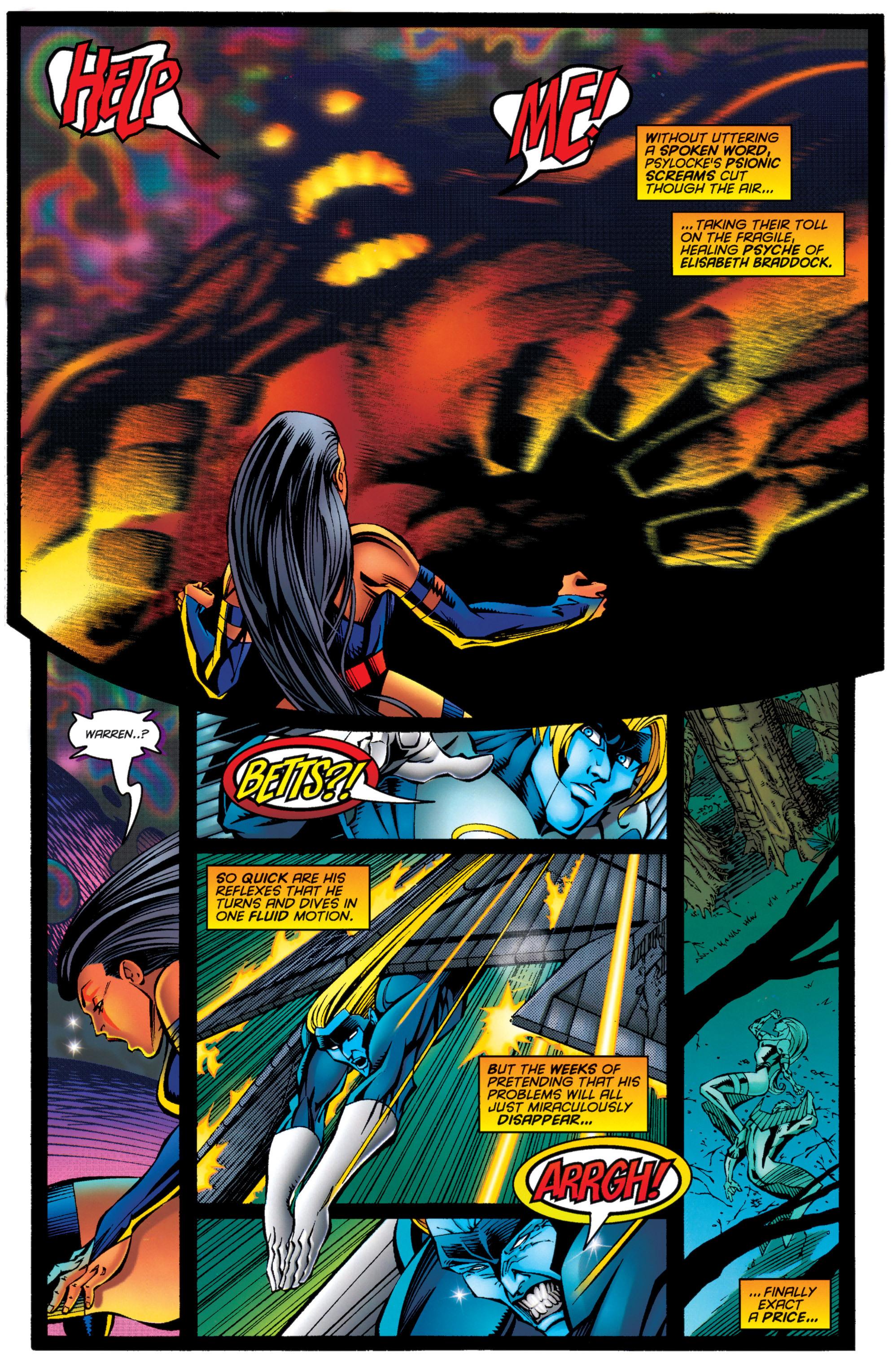 Read online Uncanny X-Men (1963) comic -  Issue #333 - 9