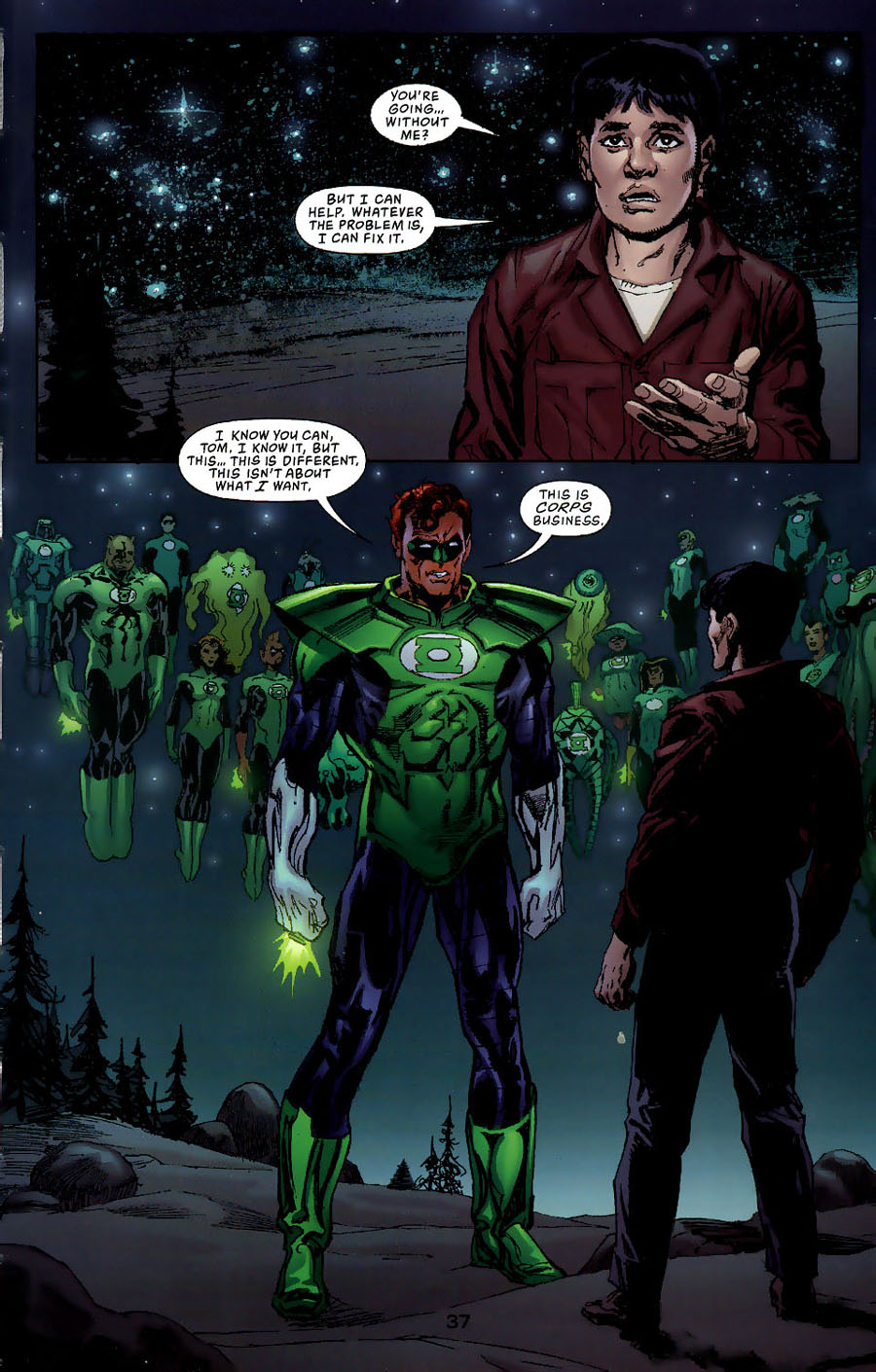 Read online Green Lantern: Legacy: The Last Will and Testament of Hal Jordan comic -  Issue # TPB - 42