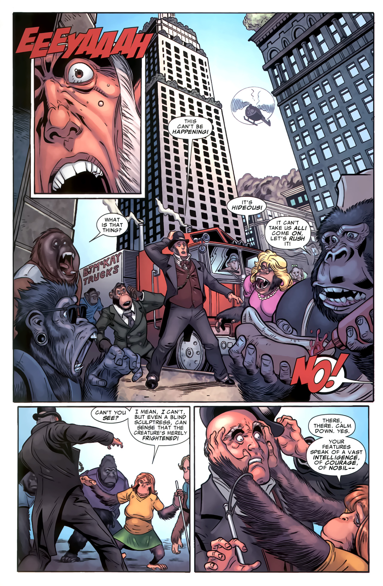 Read online Marvel Apes: Speedball Special comic -  Issue # Full - 37