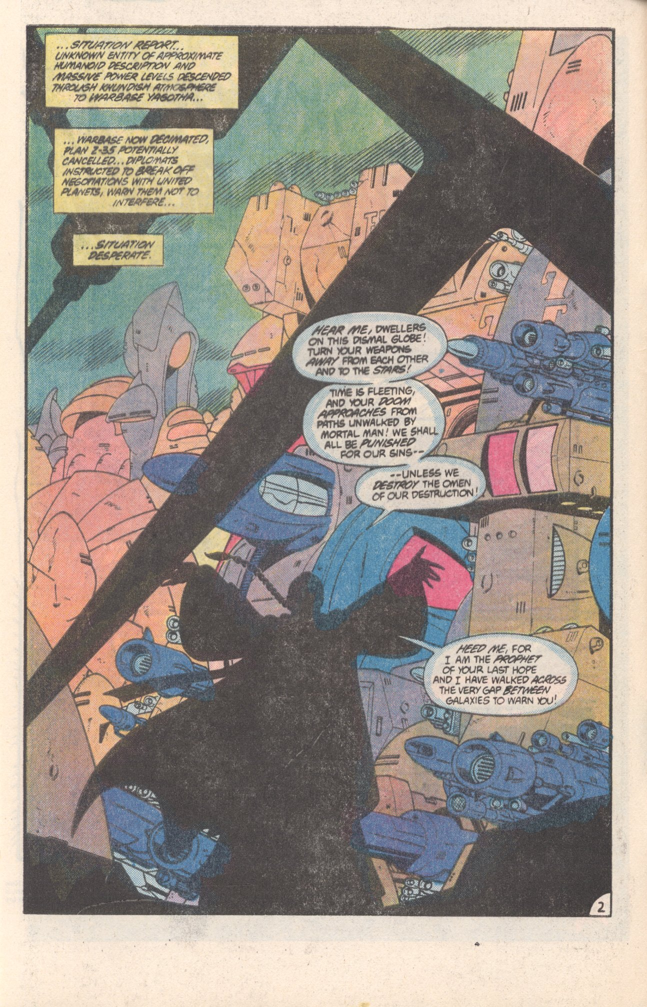 Legion of Super-Heroes (1980) 308 Page 2