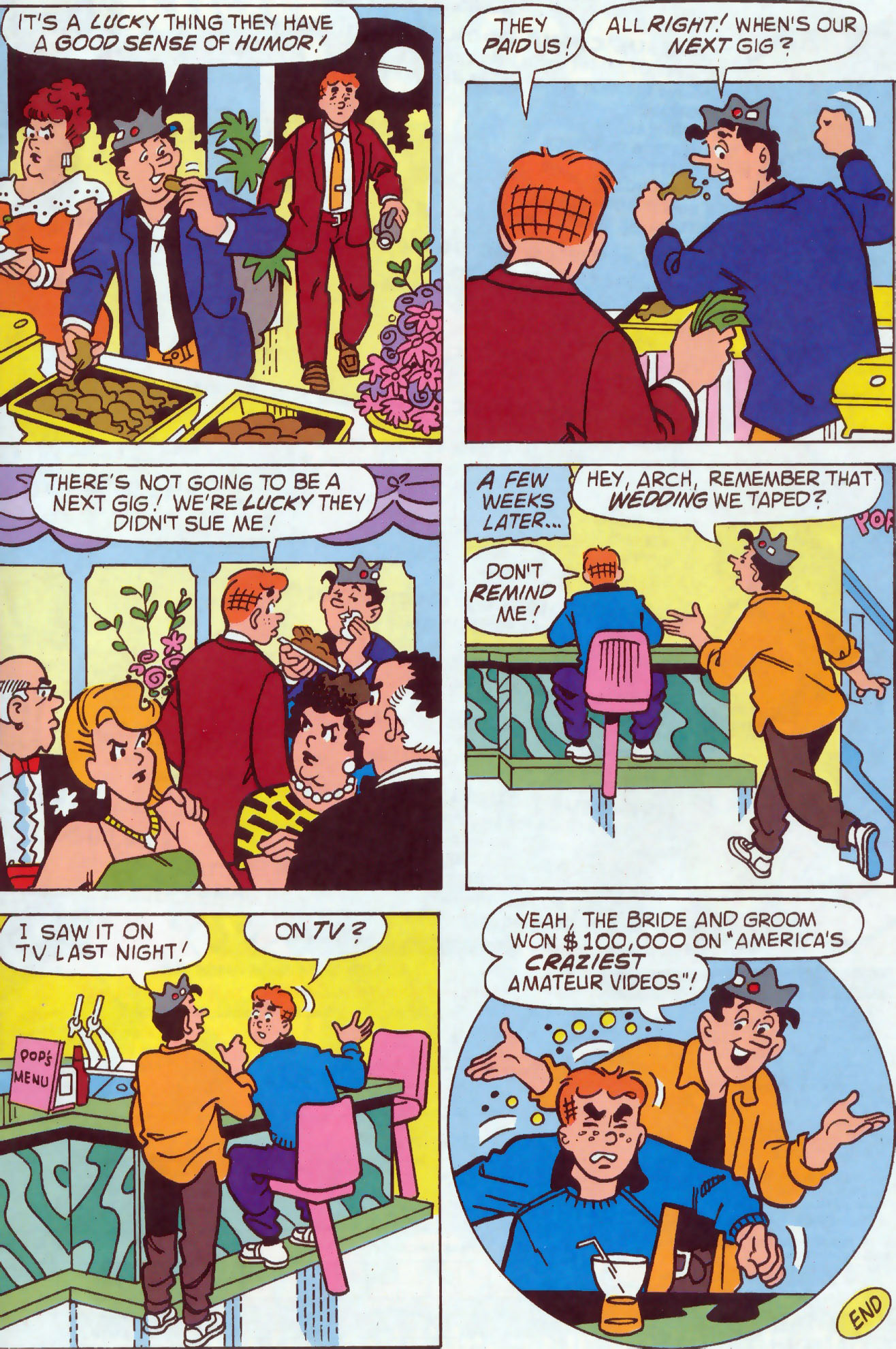 Read online Archie (1960) comic -  Issue #437 - 25