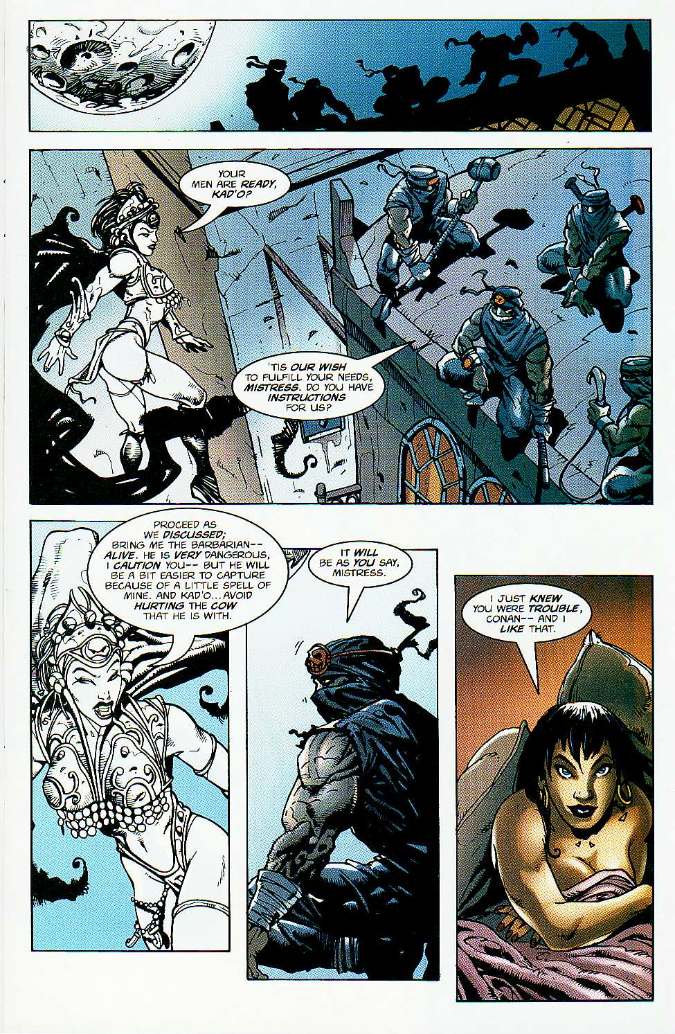 Read online Conan: Return of Styrm comic -  Issue #1 - 10