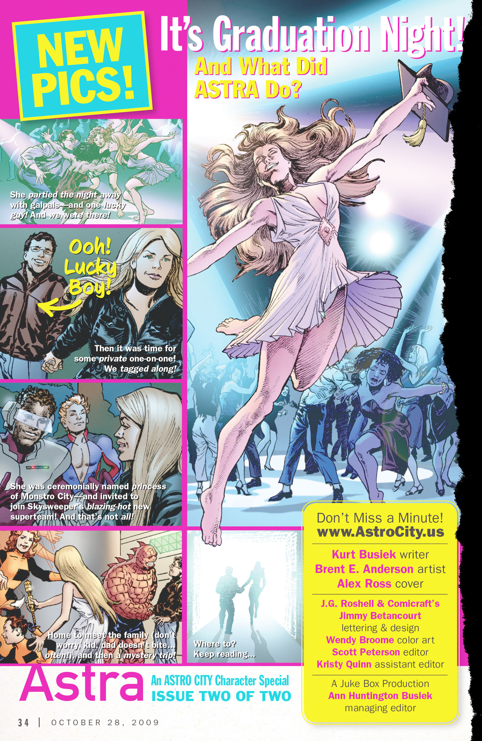 Read online Astro City: Astra Special comic -  Issue #2 - 2