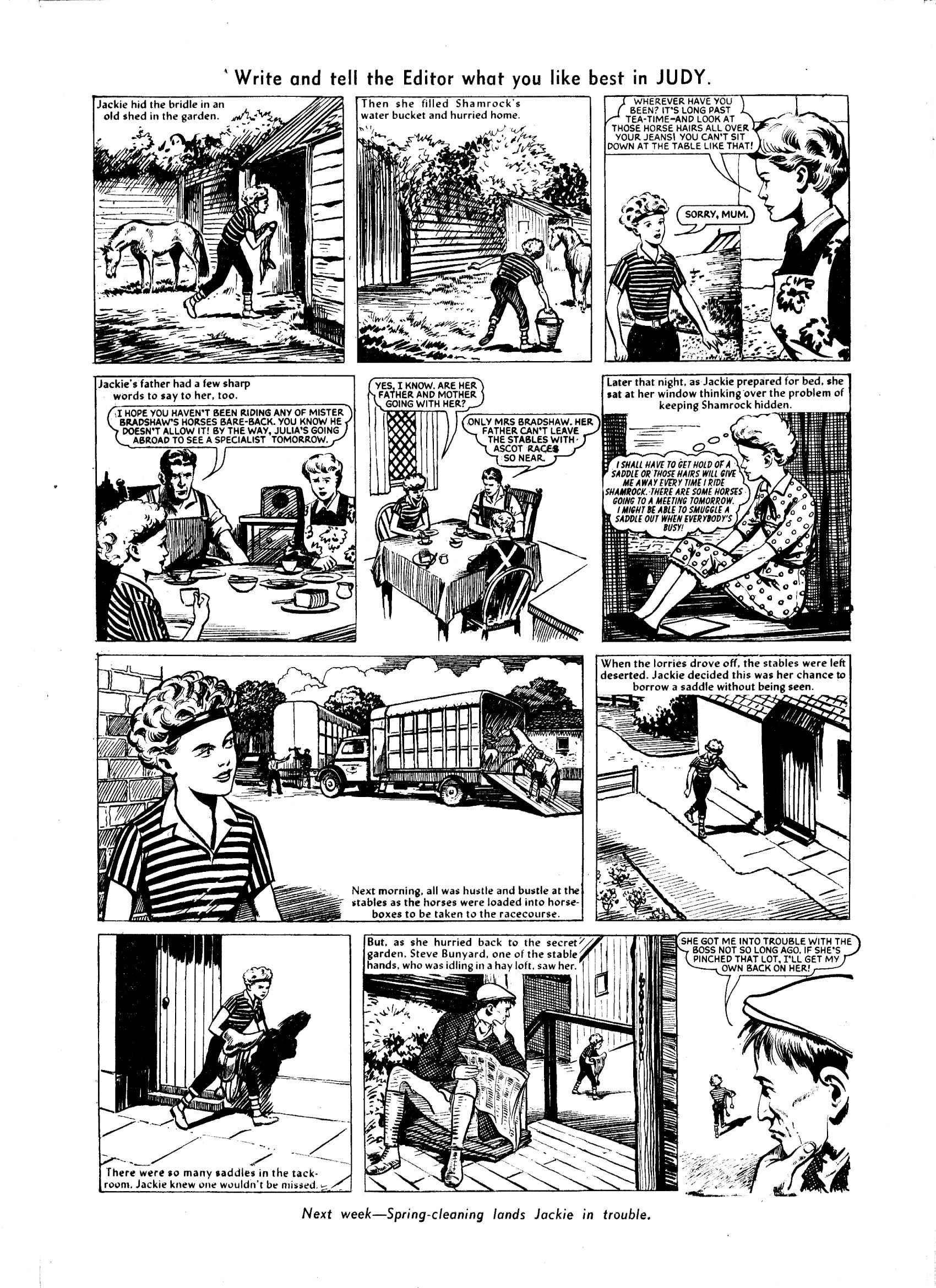 Read online Judy comic -  Issue #47 - 9