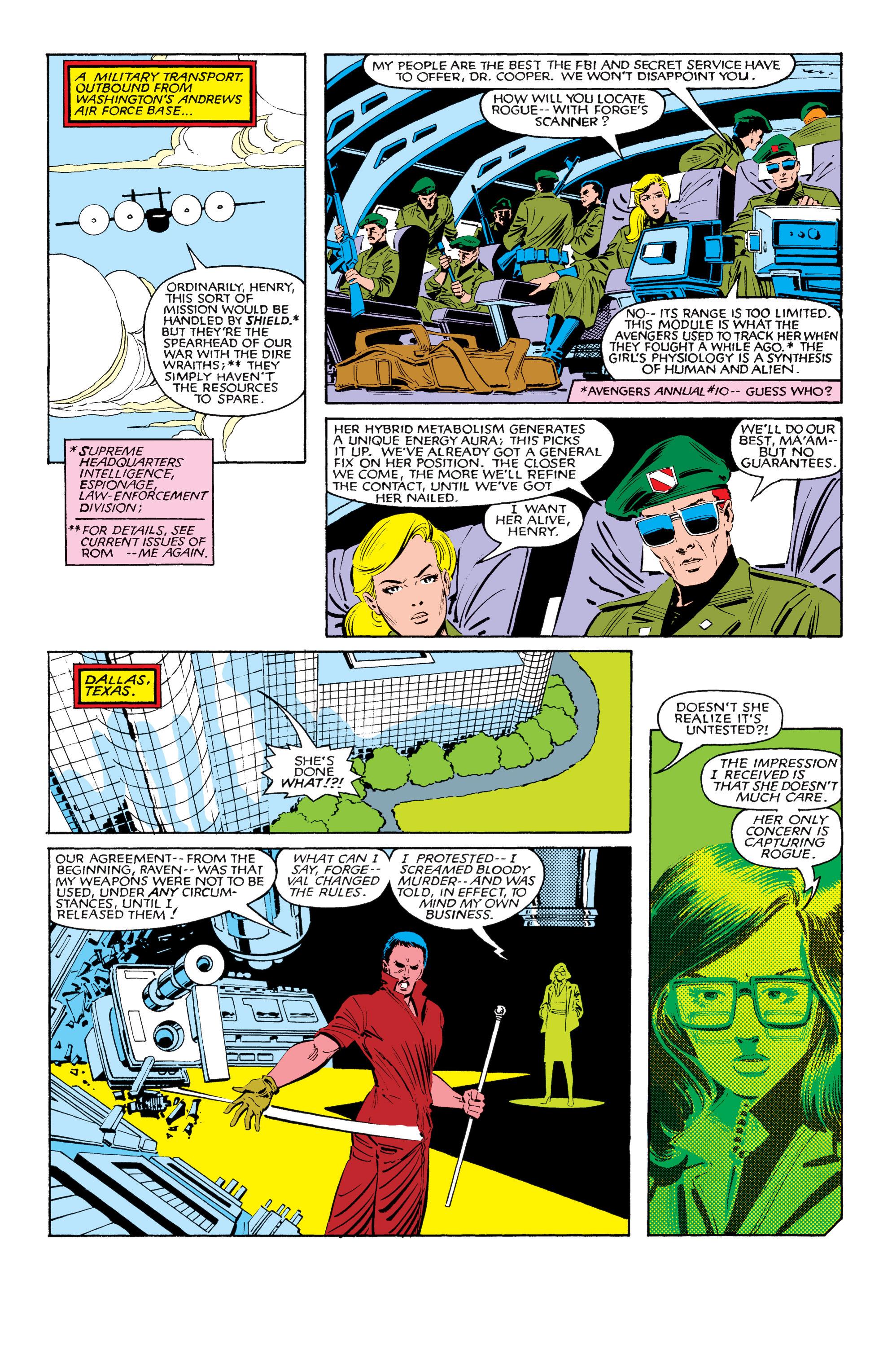 Read online Uncanny X-Men (1963) comic -  Issue #185 - 8