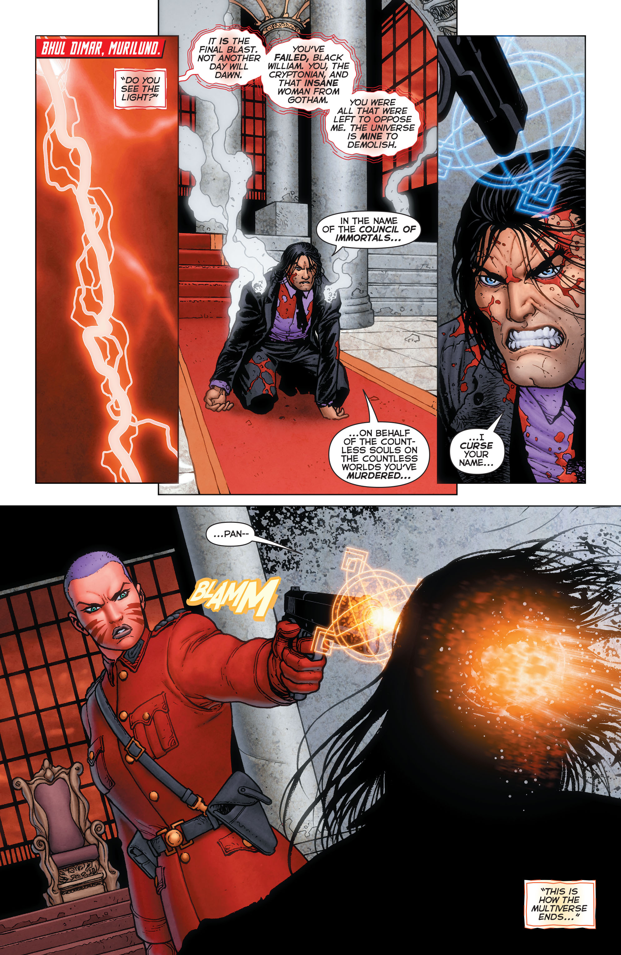 Read online Trinity of Sin: Pandora: Futures End comic -  Issue # Full - 2