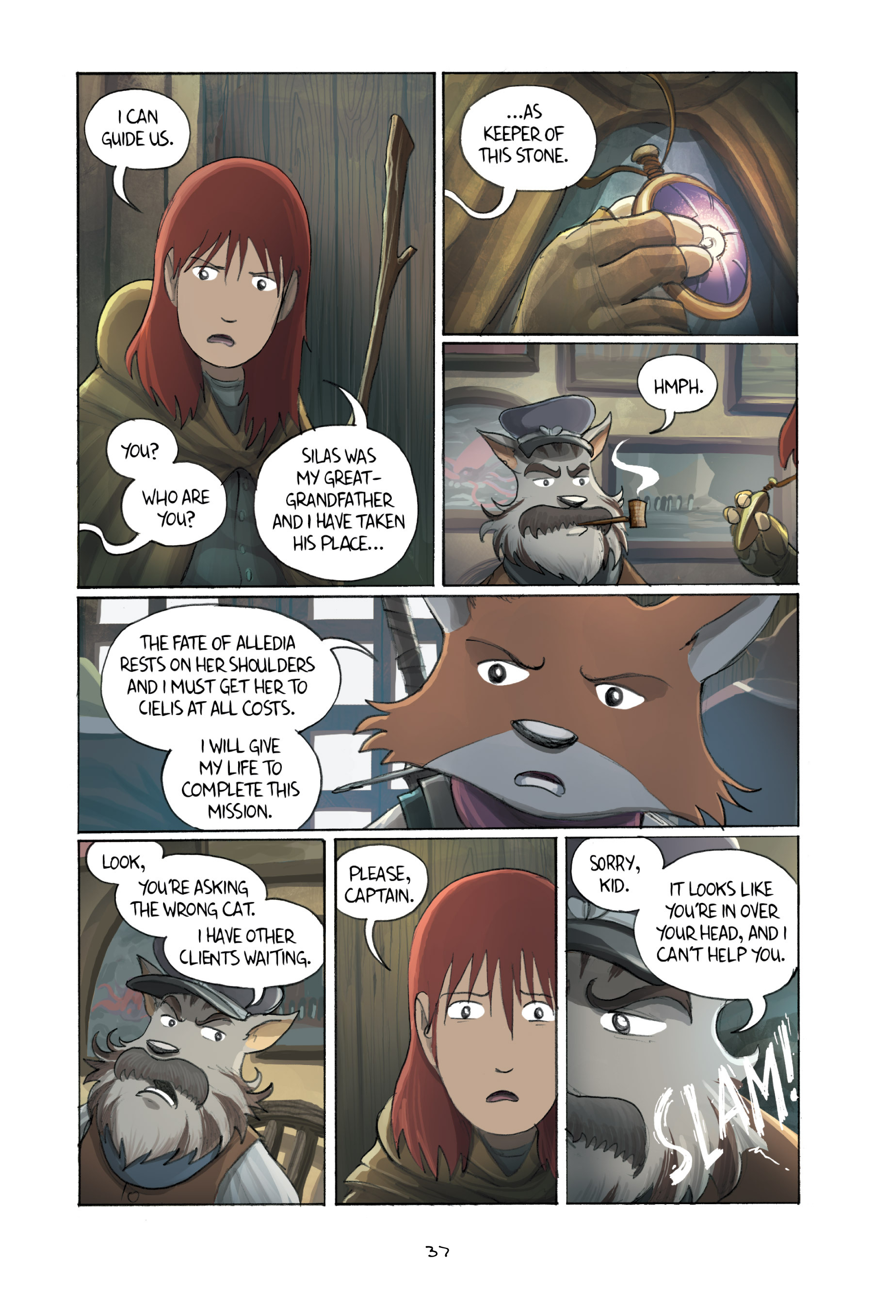 Read online Amulet comic -  Issue #3 - 36