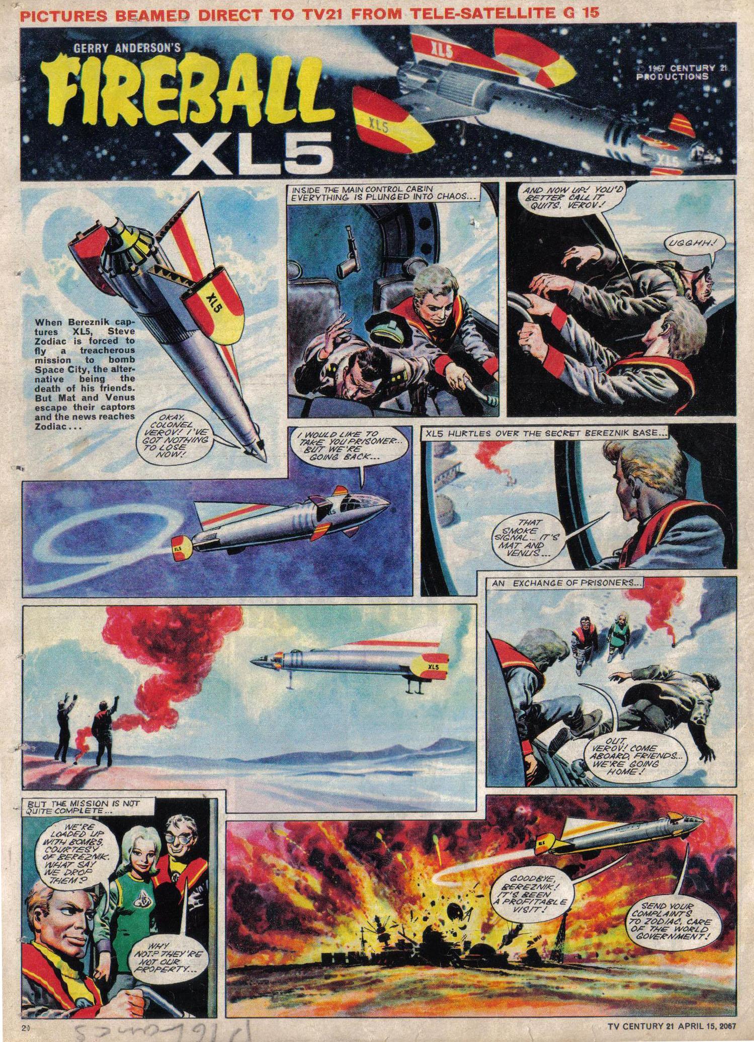 Read online TV Century 21 (TV 21) comic -  Issue #117 - 19