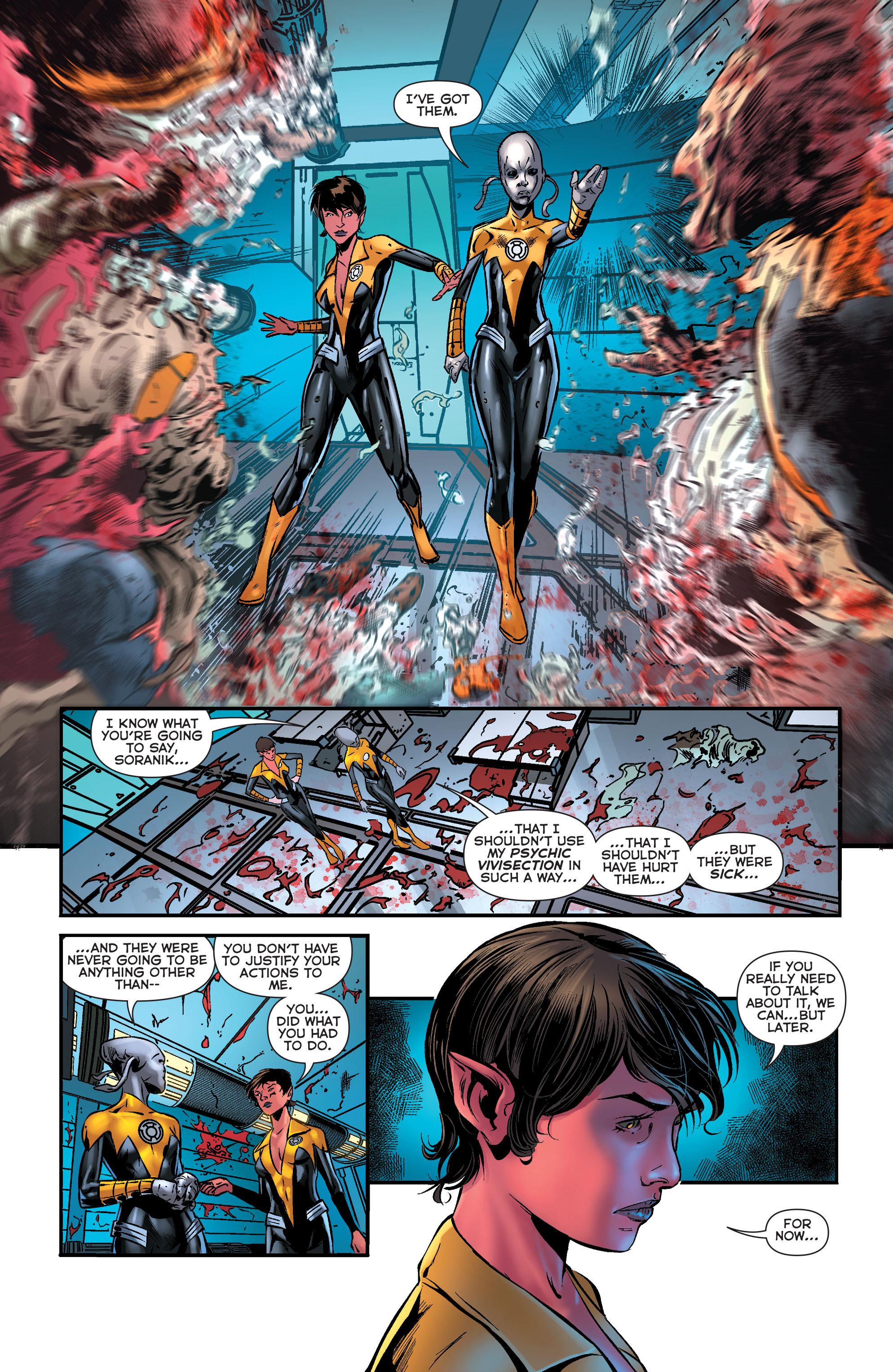 Read online Sinestro comic -  Issue #18 - 11