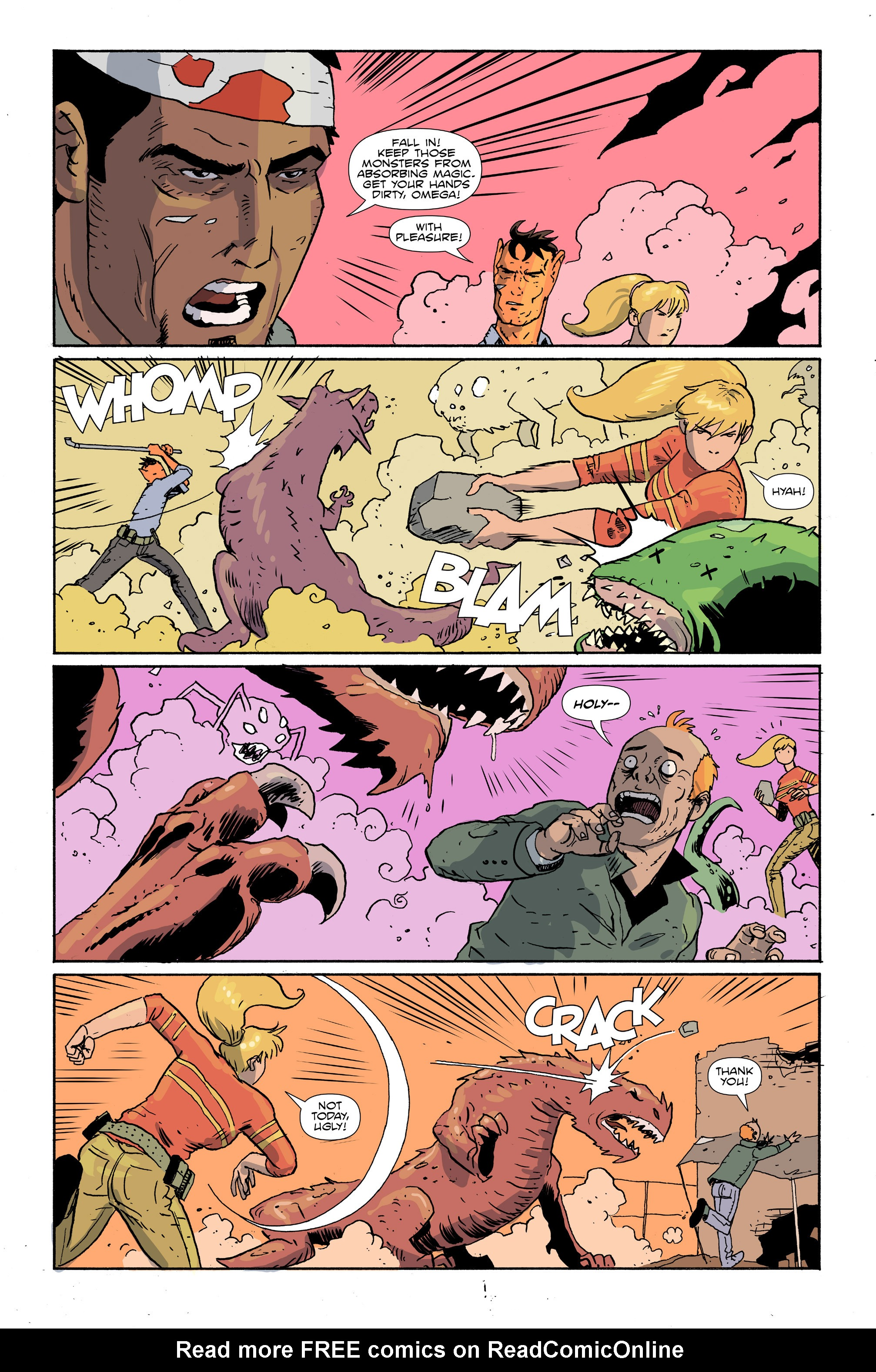 Read online Amelia Cole Versus The End of Everything comic -  Issue #28 - 12