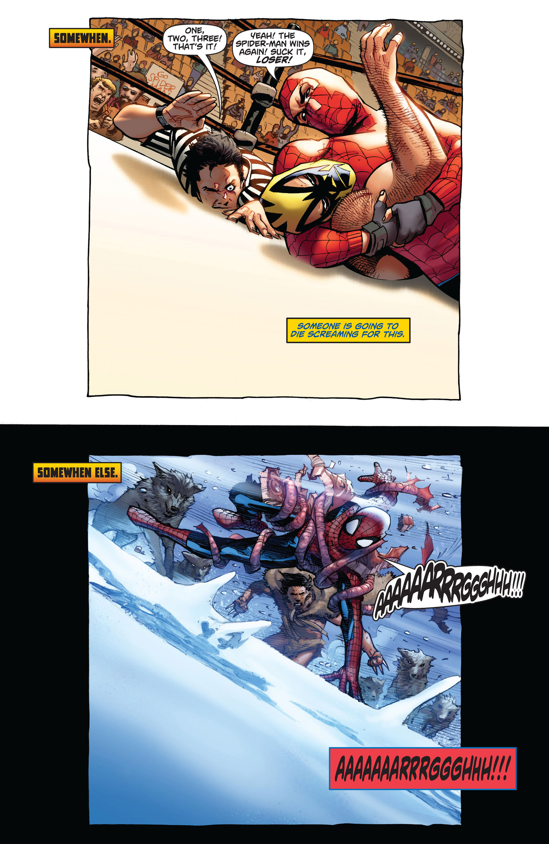 Read online Astonishing Spider-Man & Wolverine comic -  Issue #4 - 3