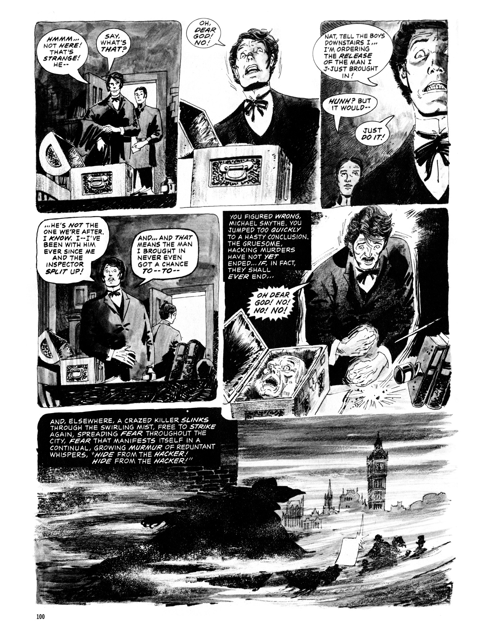 Read online Eerie Archives comic -  Issue # TPB 12 - 101