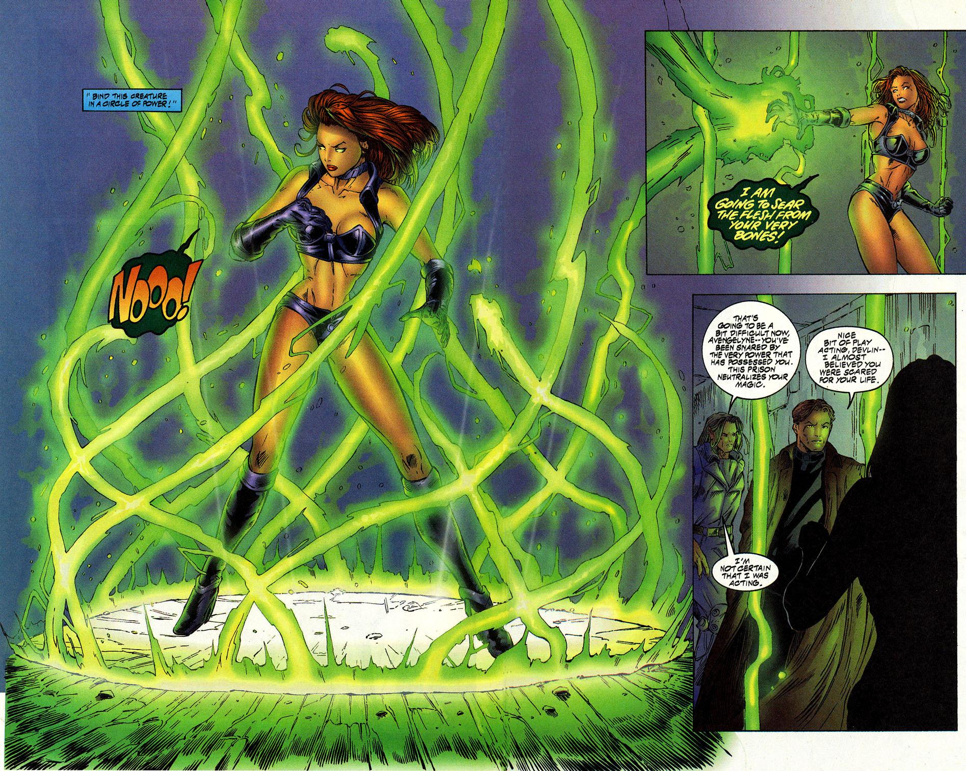 Read online Avengelyne (1996) comic -  Issue #12 - 19