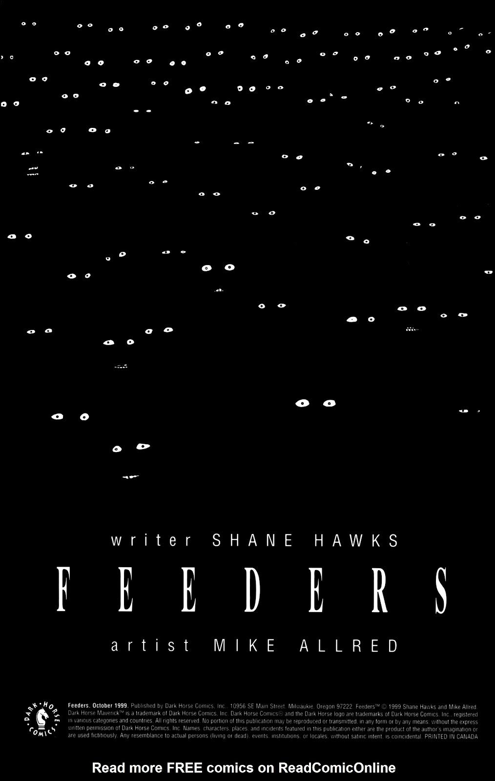 Read online Feeders comic -  Issue # Full - 2