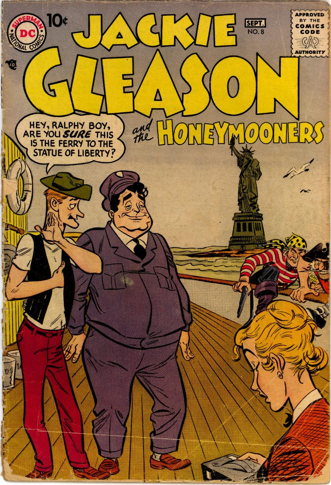 Jackie Gleason and the Honeymooners issue 8 - Page 1