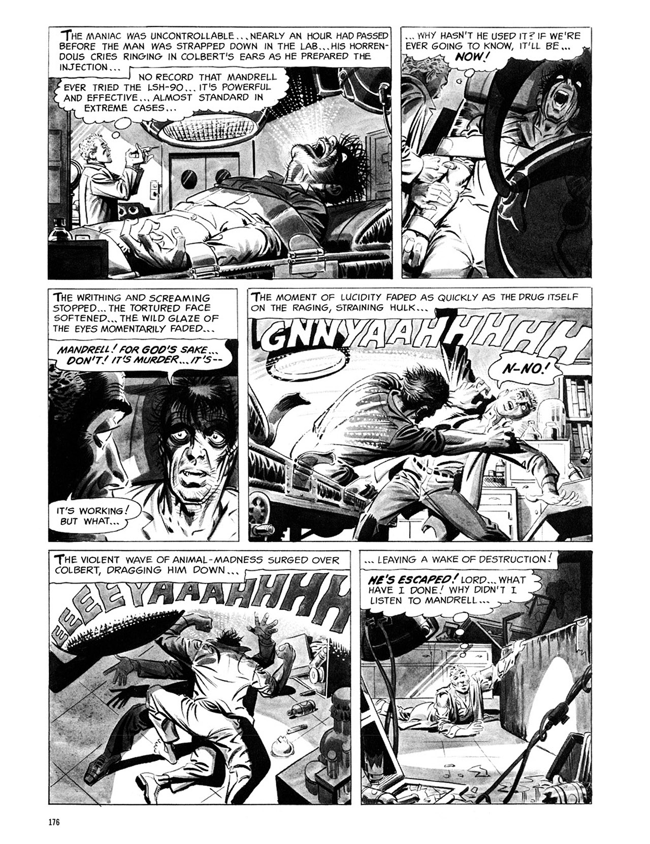Read online Eerie Archives comic -  Issue # TPB 1 - 177