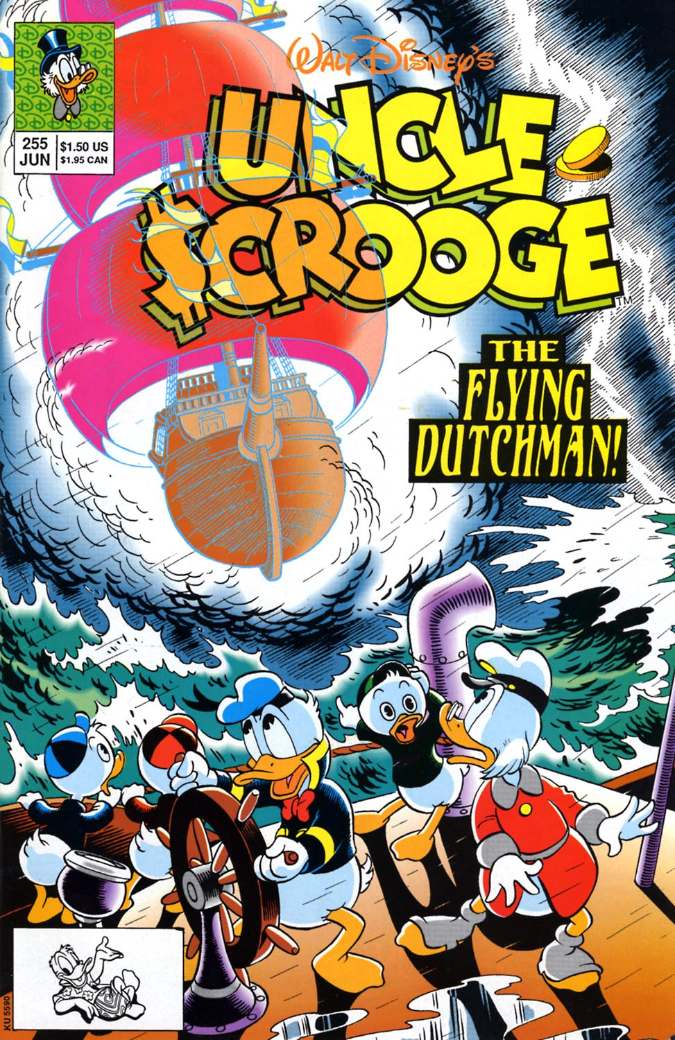 Read online Uncle Scrooge (1953) comic -  Issue #255 - 1