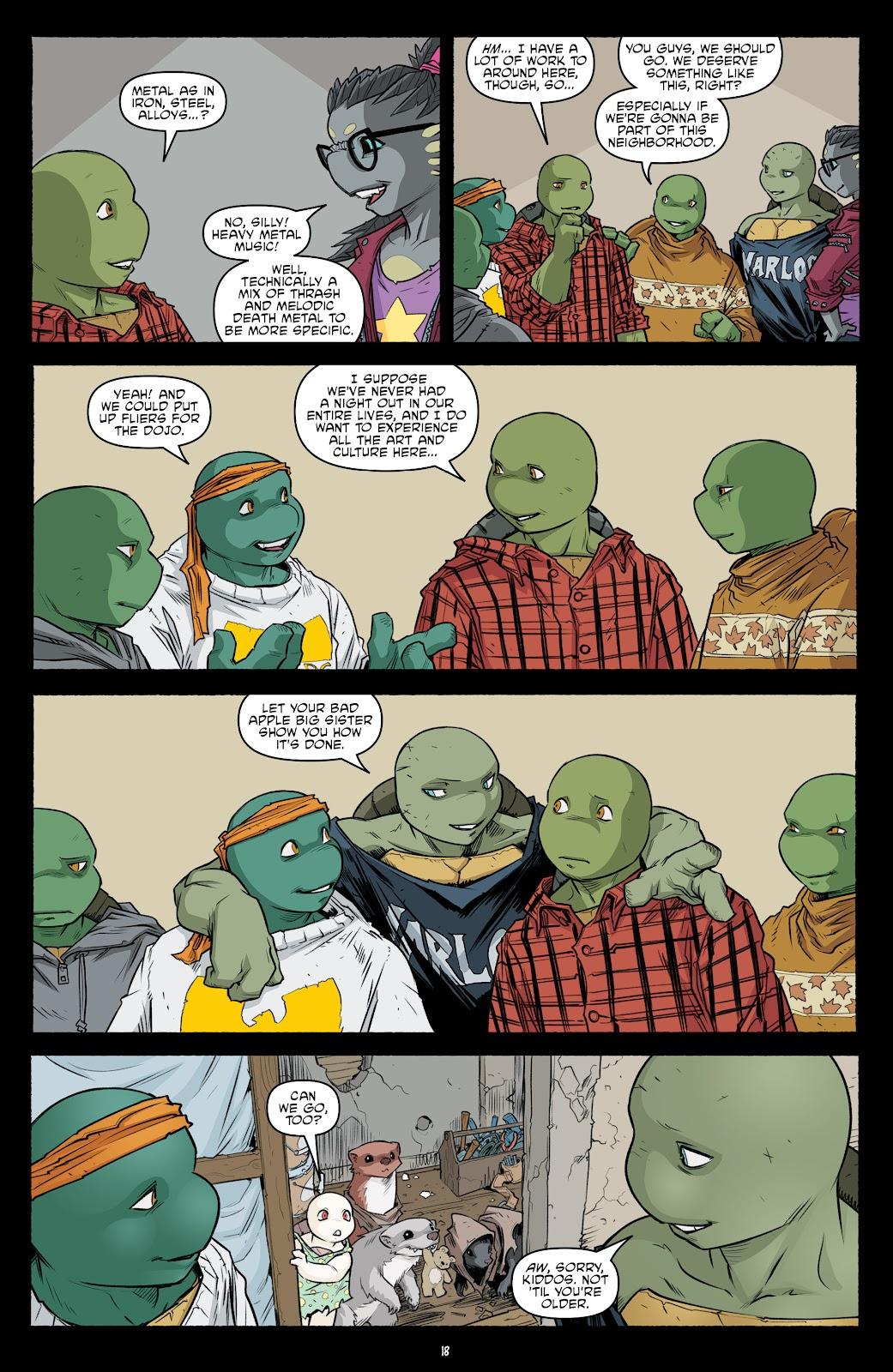 Read online Teenage Mutant Ninja Turtles (2011) comic -  Issue #104 - 20