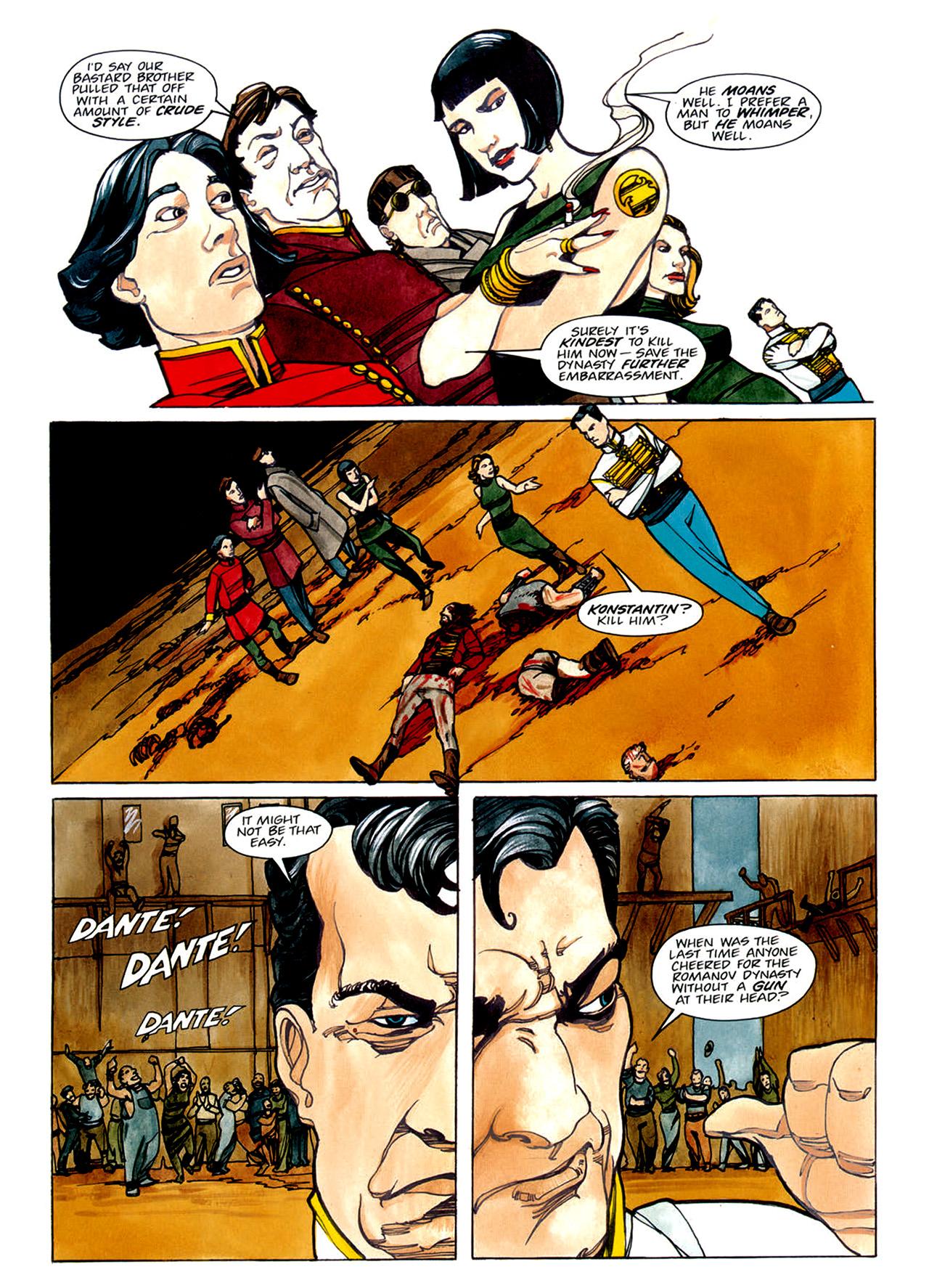 Read online Nikolai Dante comic -  Issue # TPB 1 - 85
