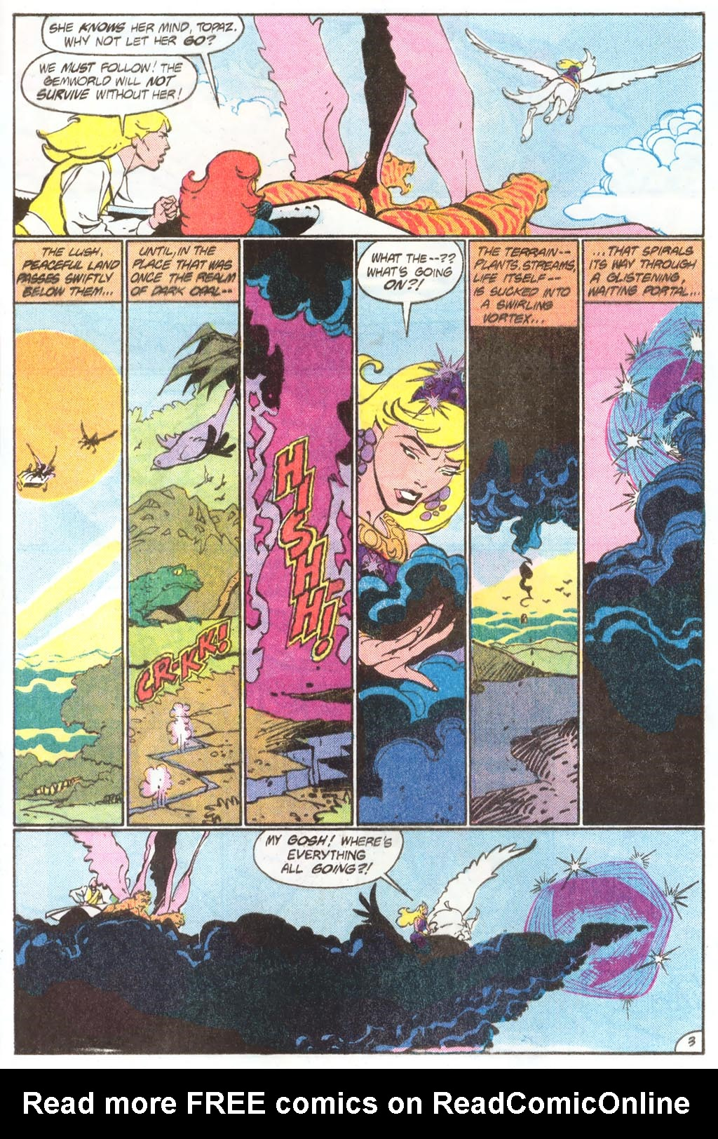 Read online Amethyst (1985) comic -  Issue #11 - 5