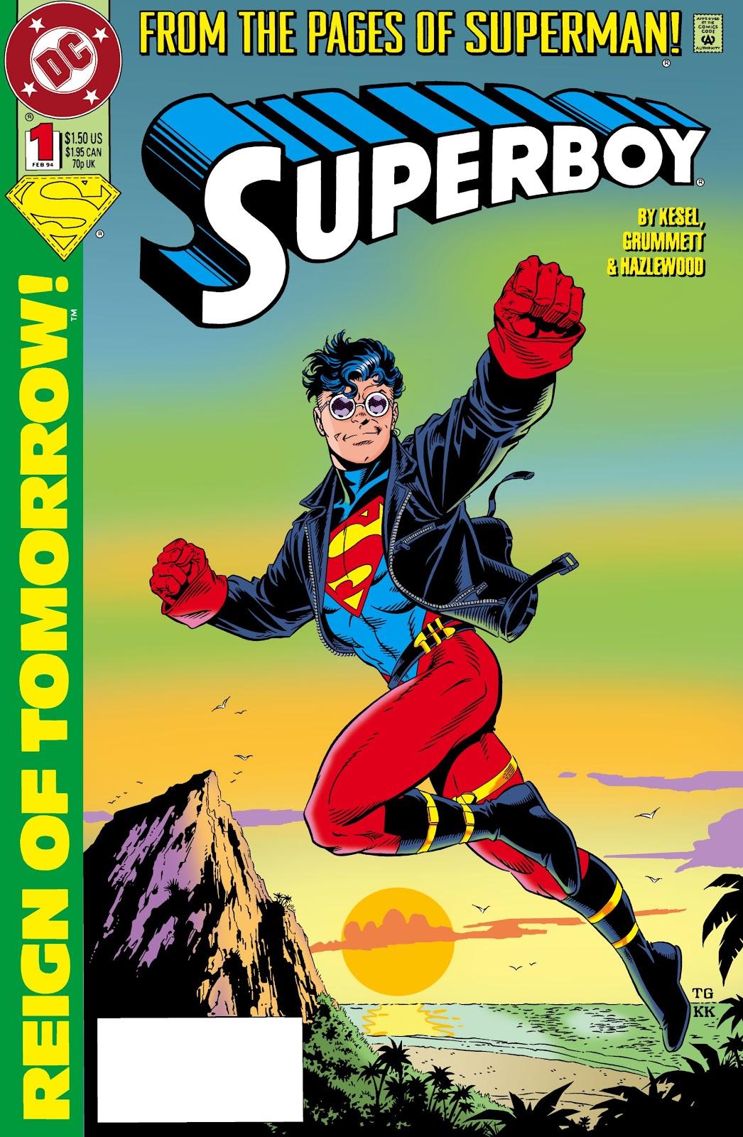 Superboy (1994) 1 Page 1