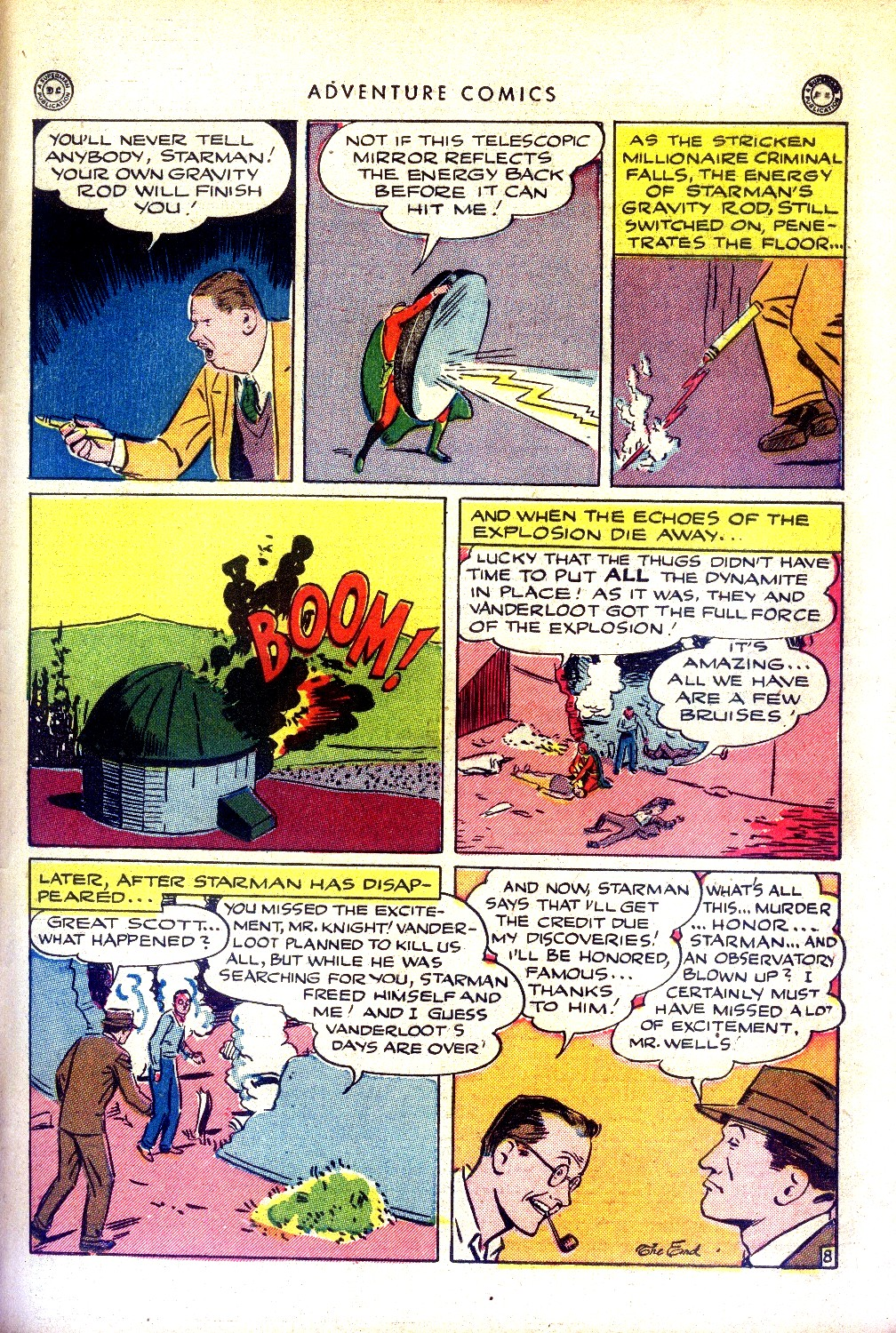 Read online Adventure Comics (1938) comic -  Issue #97 - 39