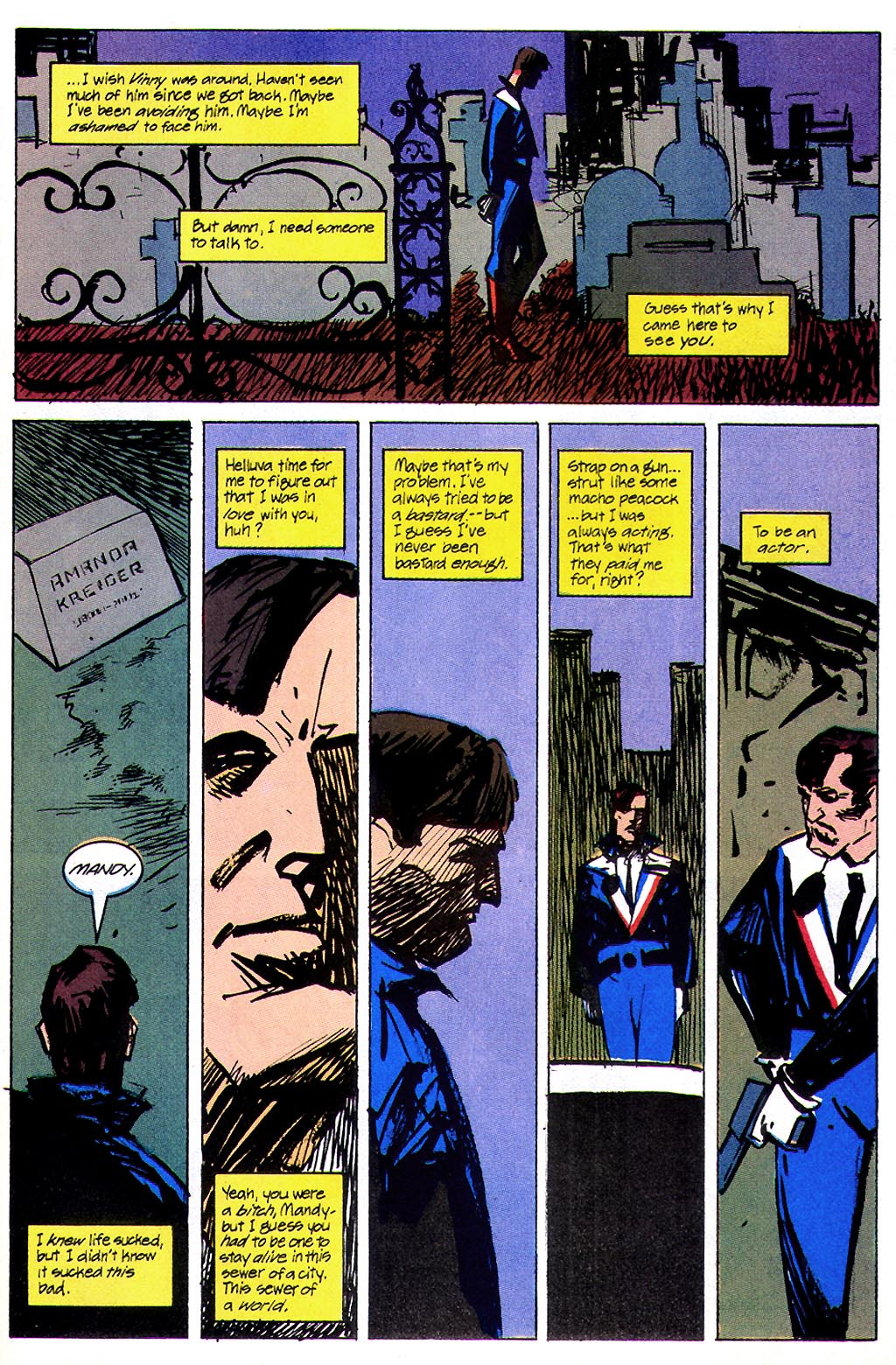 Read online American Flagg! comic -  Issue #45 - 25