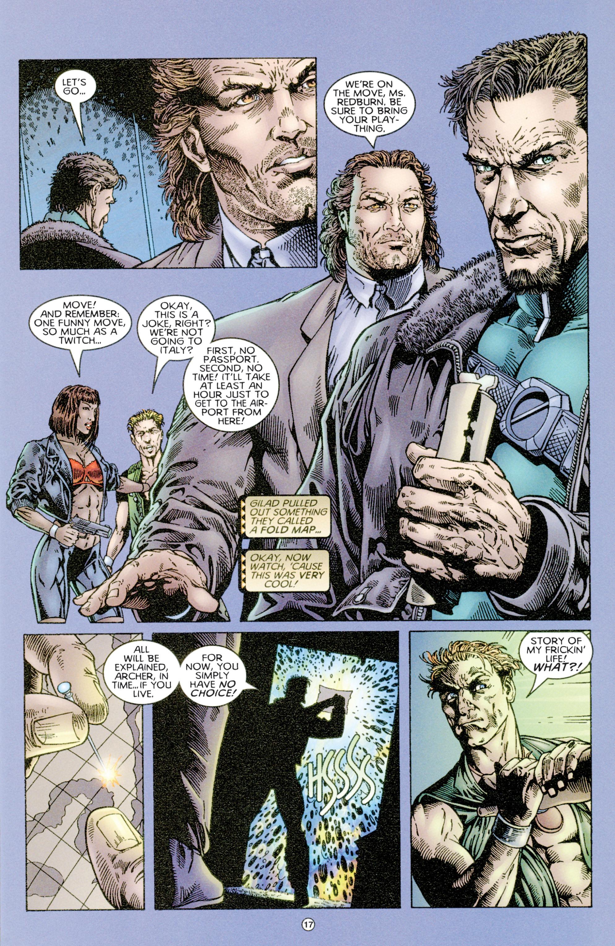 Read online Eternal Warriors comic -  Issue # Issue Time & Treachery - 16