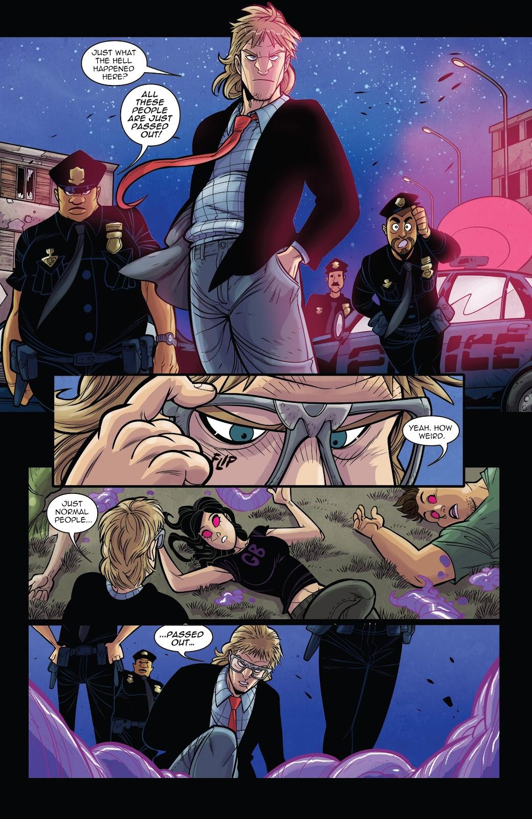 Read online Vampblade Season 3 comic -  Issue #11 - 6